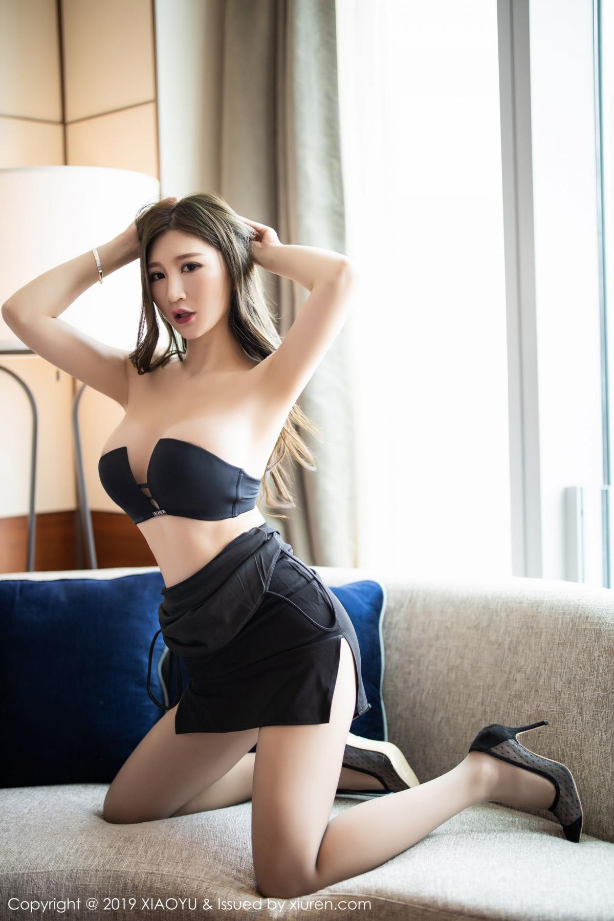 [XiaoYu] Vol.171 Xuan Zi 36P, Black Silk, Tall, XiaoYu, Xuan Zi