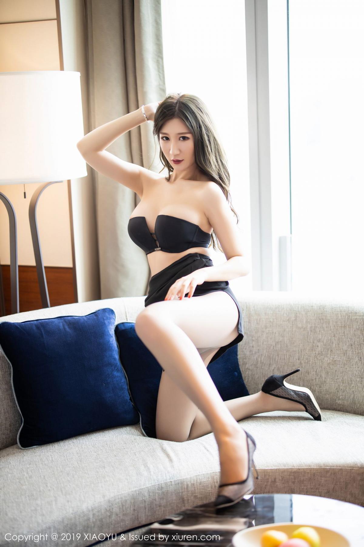 [XiaoYu] Vol.171 Xuan Zi 37P, Black Silk, Tall, XiaoYu, Xuan Zi