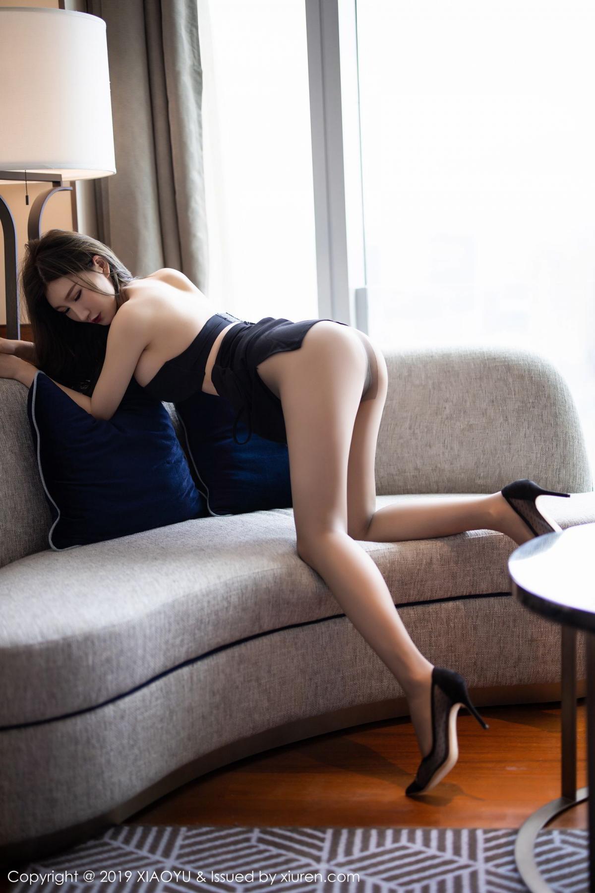 [XiaoYu] Vol.171 Xuan Zi 39P, Black Silk, Tall, XiaoYu, Xuan Zi