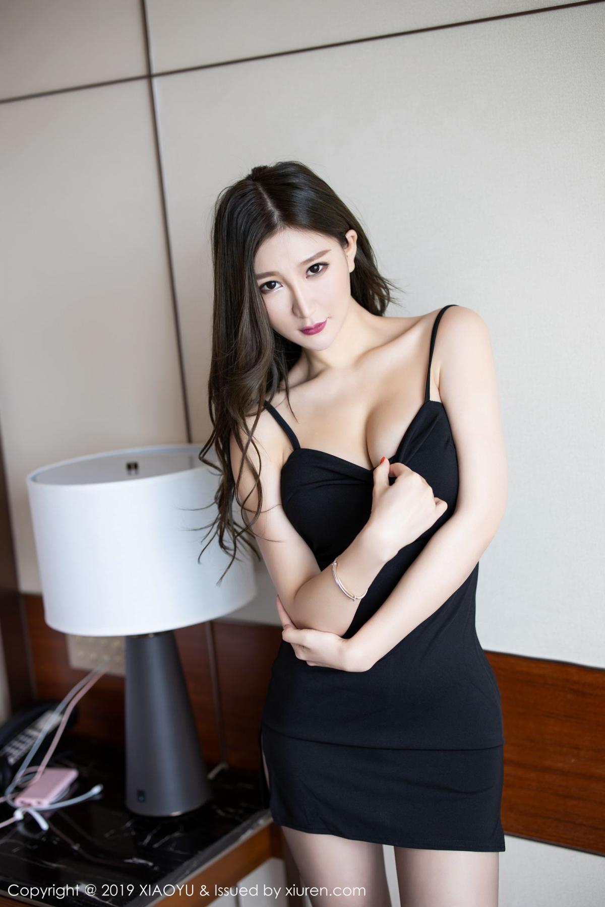 [XiaoYu] Vol.171 Xuan Zi 3P, Black Silk, Tall, XiaoYu, Xuan Zi