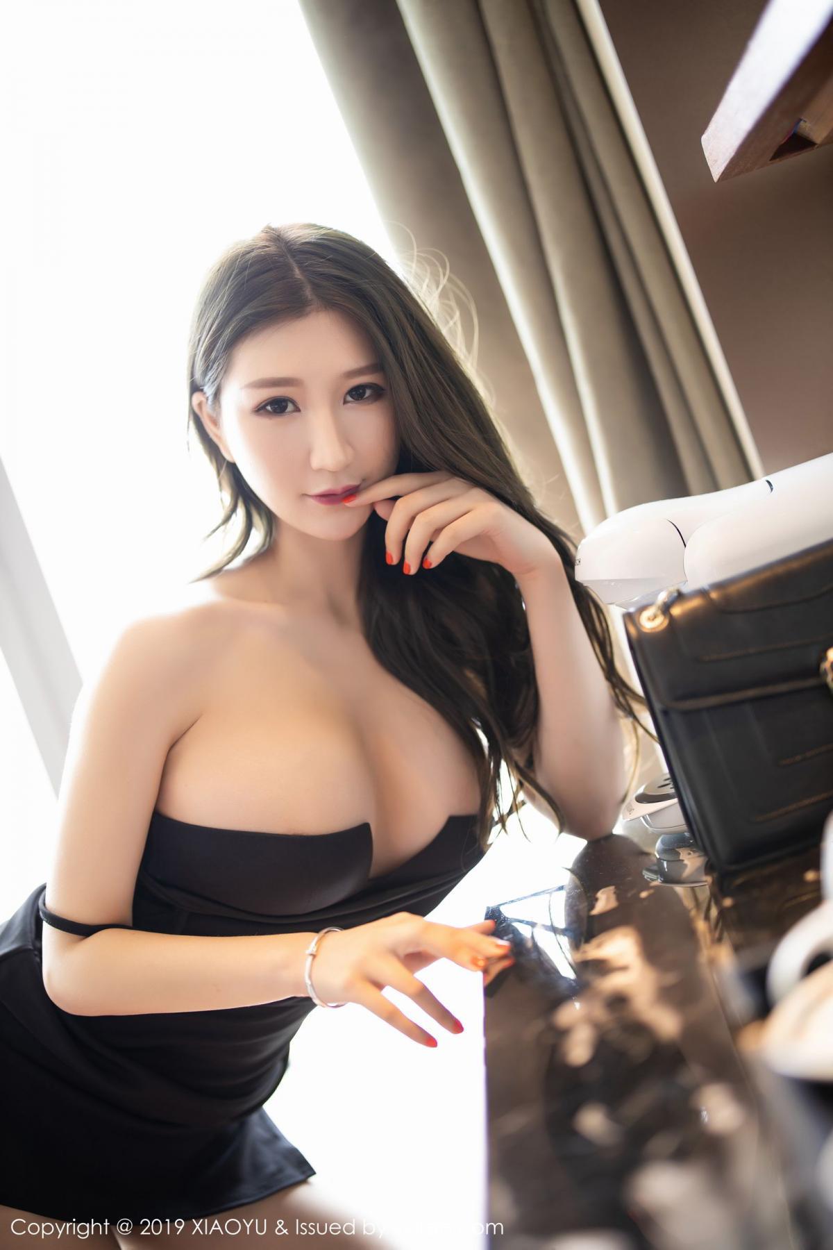[XiaoYu] Vol.171 Xuan Zi 45P, Black Silk, Tall, XiaoYu, Xuan Zi