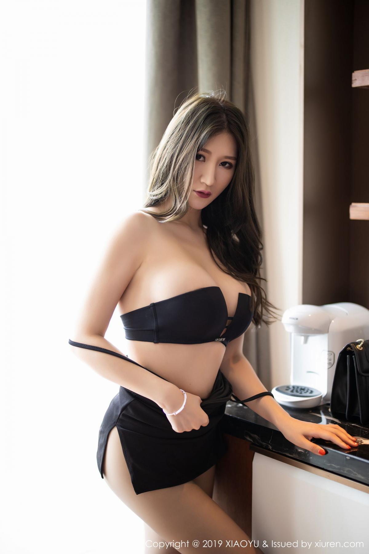 [XiaoYu] Vol.171 Xuan Zi 49P, Black Silk, Tall, XiaoYu, Xuan Zi