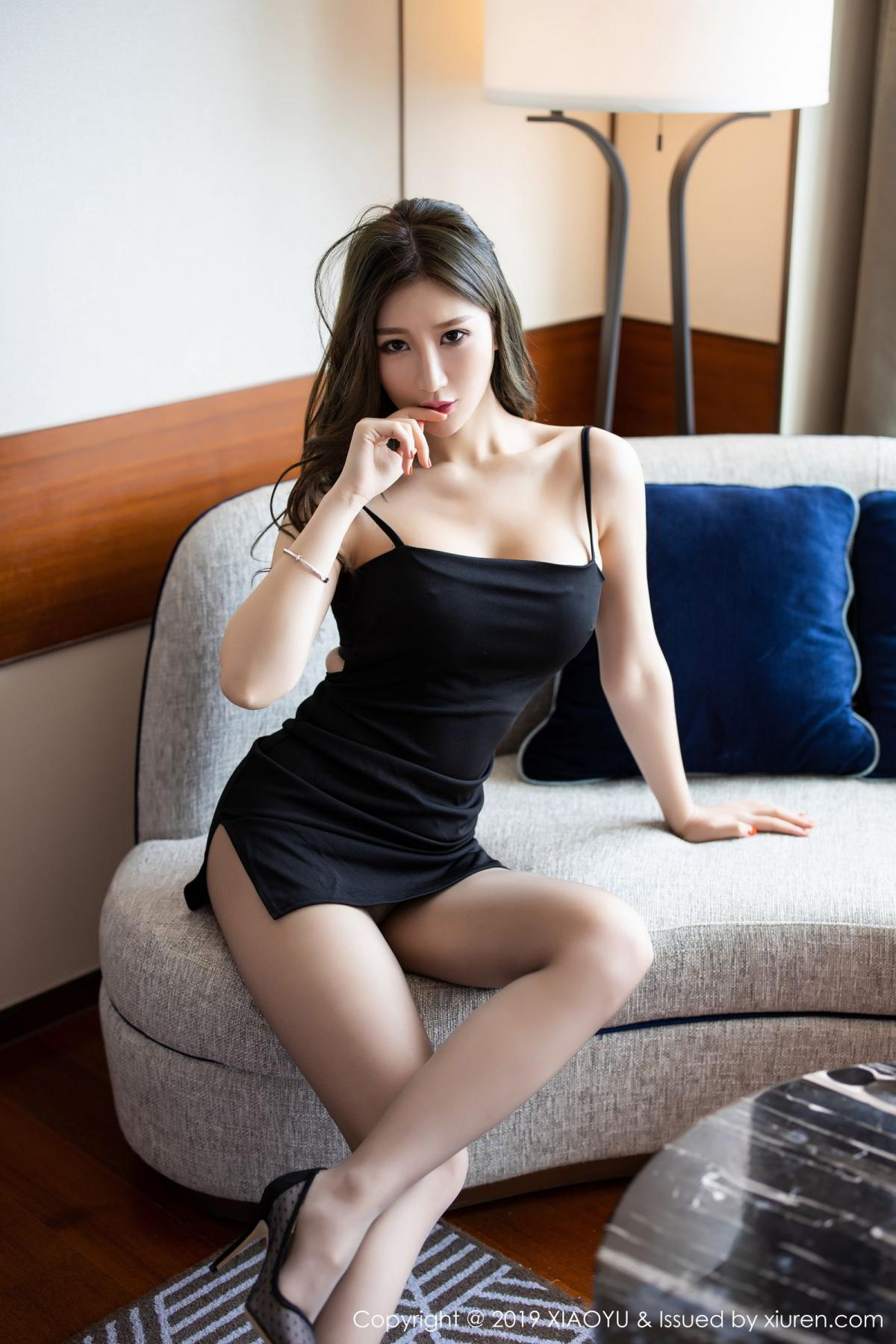 [XiaoYu] Vol.171 Xuan Zi 4P, Black Silk, Tall, XiaoYu, Xuan Zi