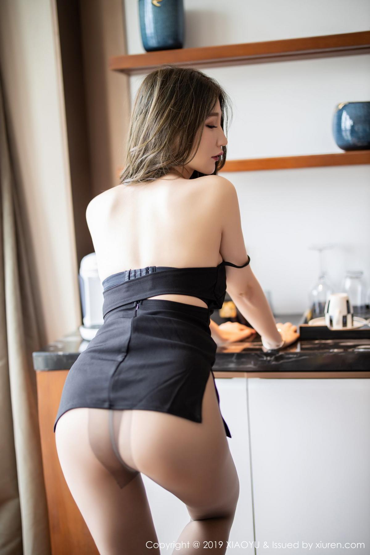 [XiaoYu] Vol.171 Xuan Zi 53P, Black Silk, Tall, XiaoYu, Xuan Zi