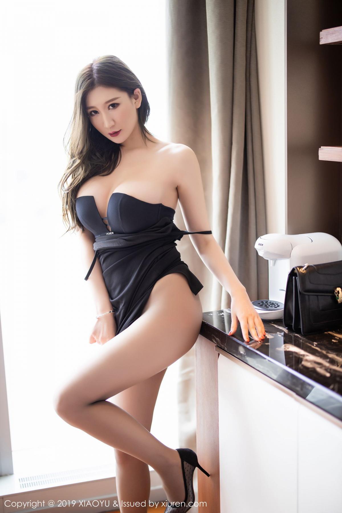 [XiaoYu] Vol.171 Xuan Zi 59P, Black Silk, Tall, XiaoYu, Xuan Zi
