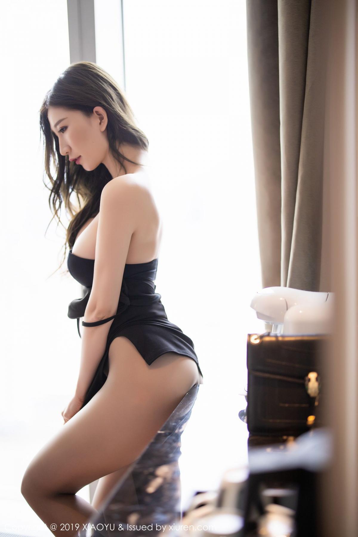 [XiaoYu] Vol.171 Xuan Zi 60P, Black Silk, Tall, XiaoYu, Xuan Zi