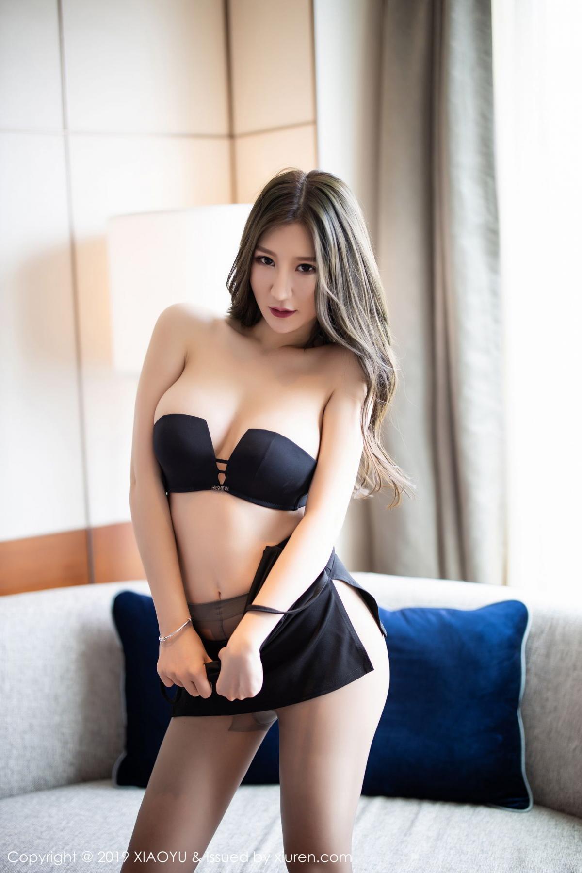 [XiaoYu] Vol.171 Xuan Zi 64P, Black Silk, Tall, XiaoYu, Xuan Zi