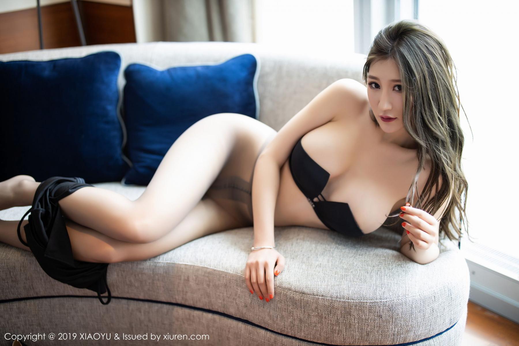 [XiaoYu] Vol.171 Xuan Zi 80P, Black Silk, Tall, XiaoYu, Xuan Zi