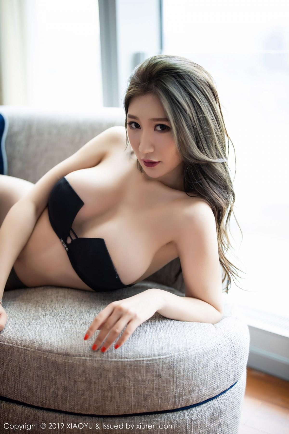 [XiaoYu] Vol.171 Xuan Zi 84P, Black Silk, Tall, XiaoYu, Xuan Zi