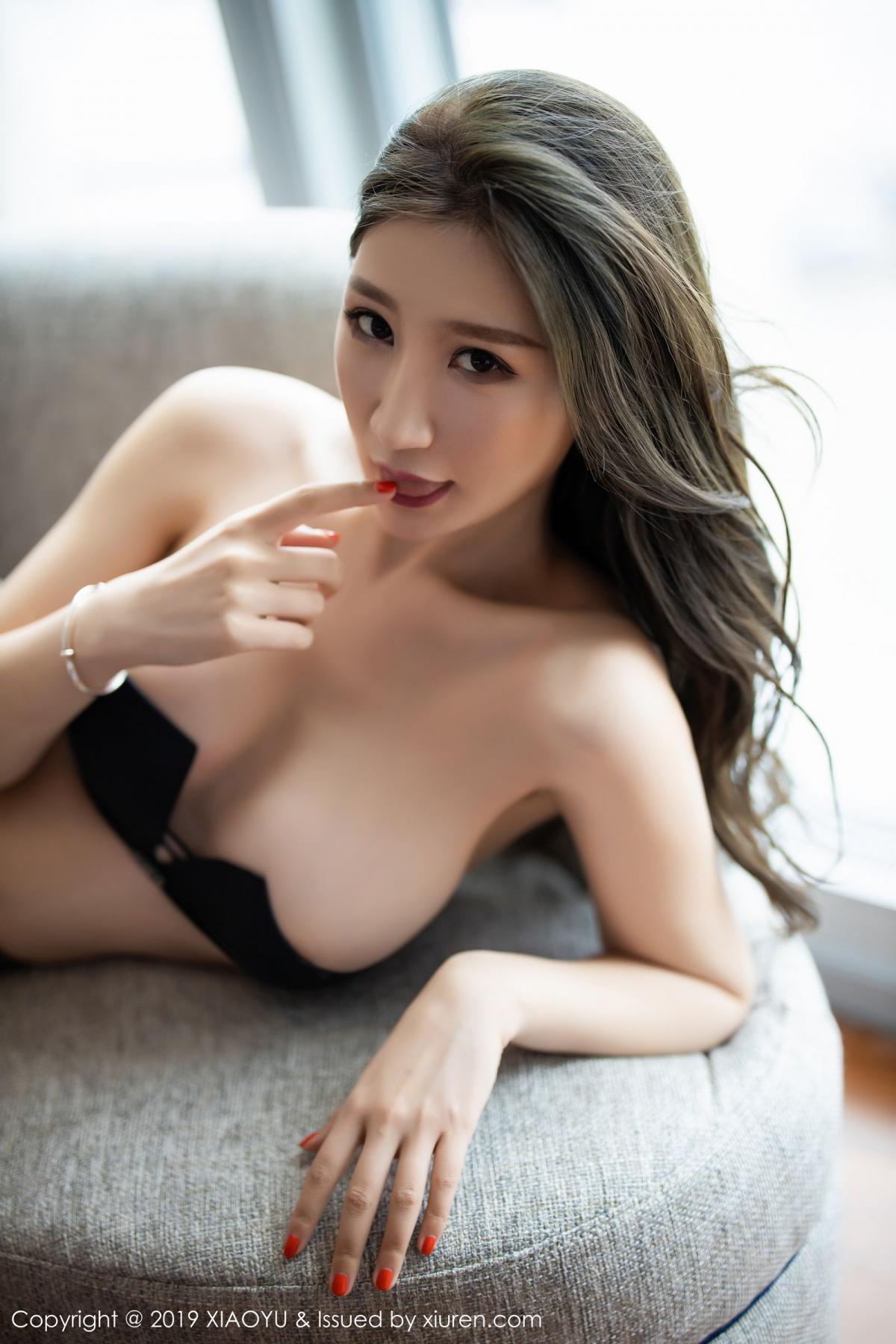 [XiaoYu] Vol.171 Xuan Zi 87P, Black Silk, Tall, XiaoYu, Xuan Zi