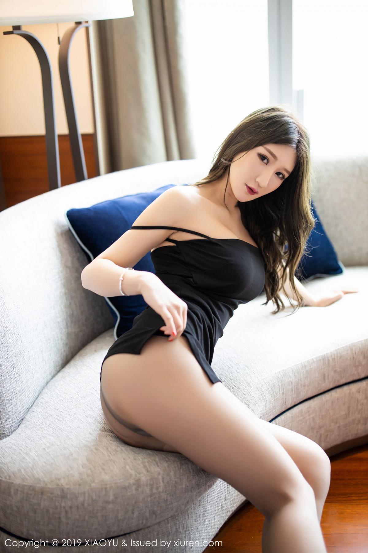 [XiaoYu] Vol.171 Xuan Zi 8P, Black Silk, Tall, XiaoYu, Xuan Zi