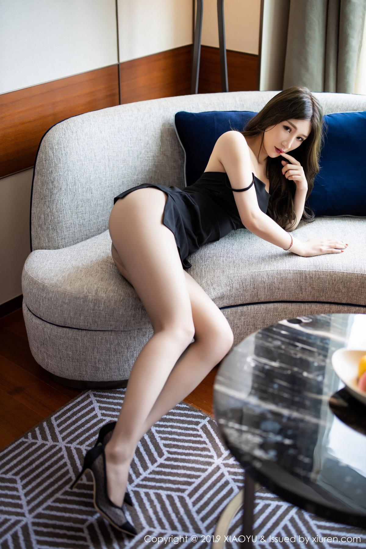 [XiaoYu] Vol.171 Xuan Zi 9P, Black Silk, Tall, XiaoYu, Xuan Zi