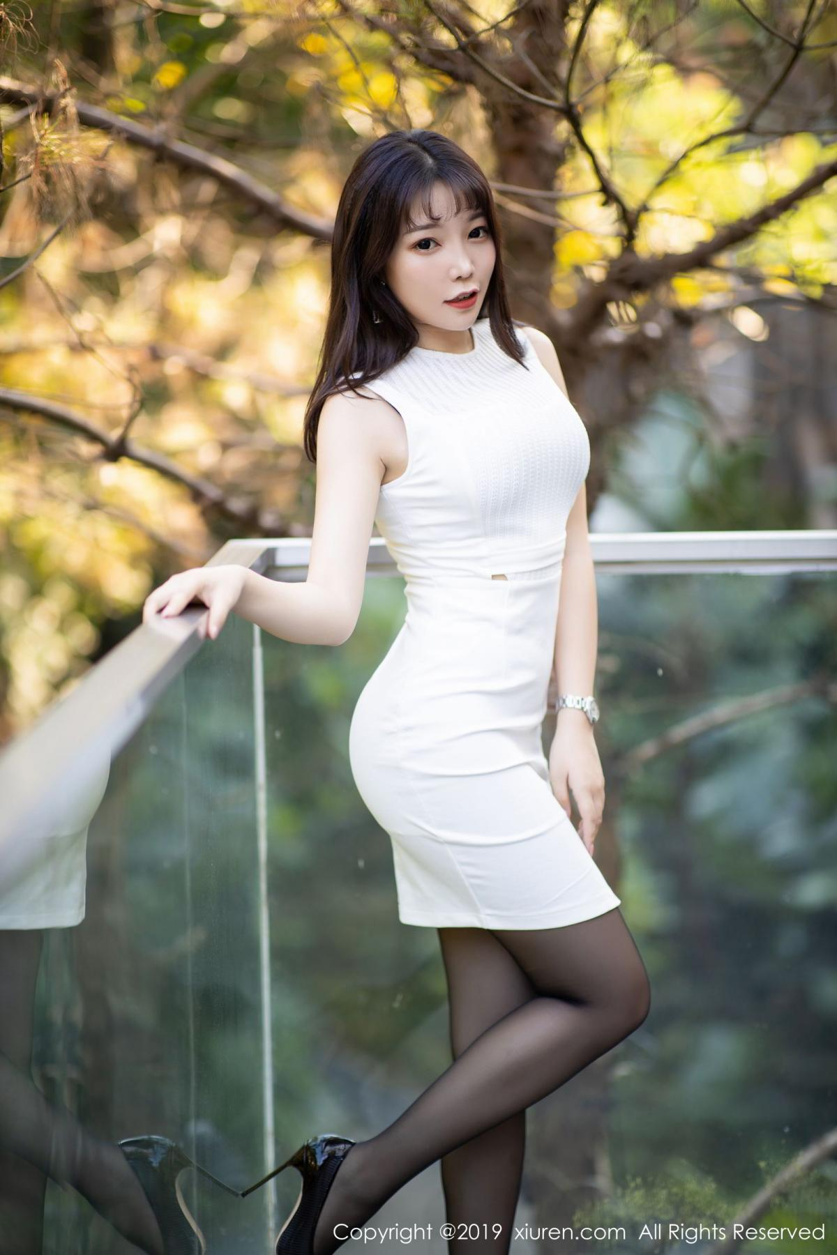 [XiaoYu] Vol.1714 Chen Zhi 13P, Big Booty, Black Silk, Chen Zhi, Underwear, XiaoYu