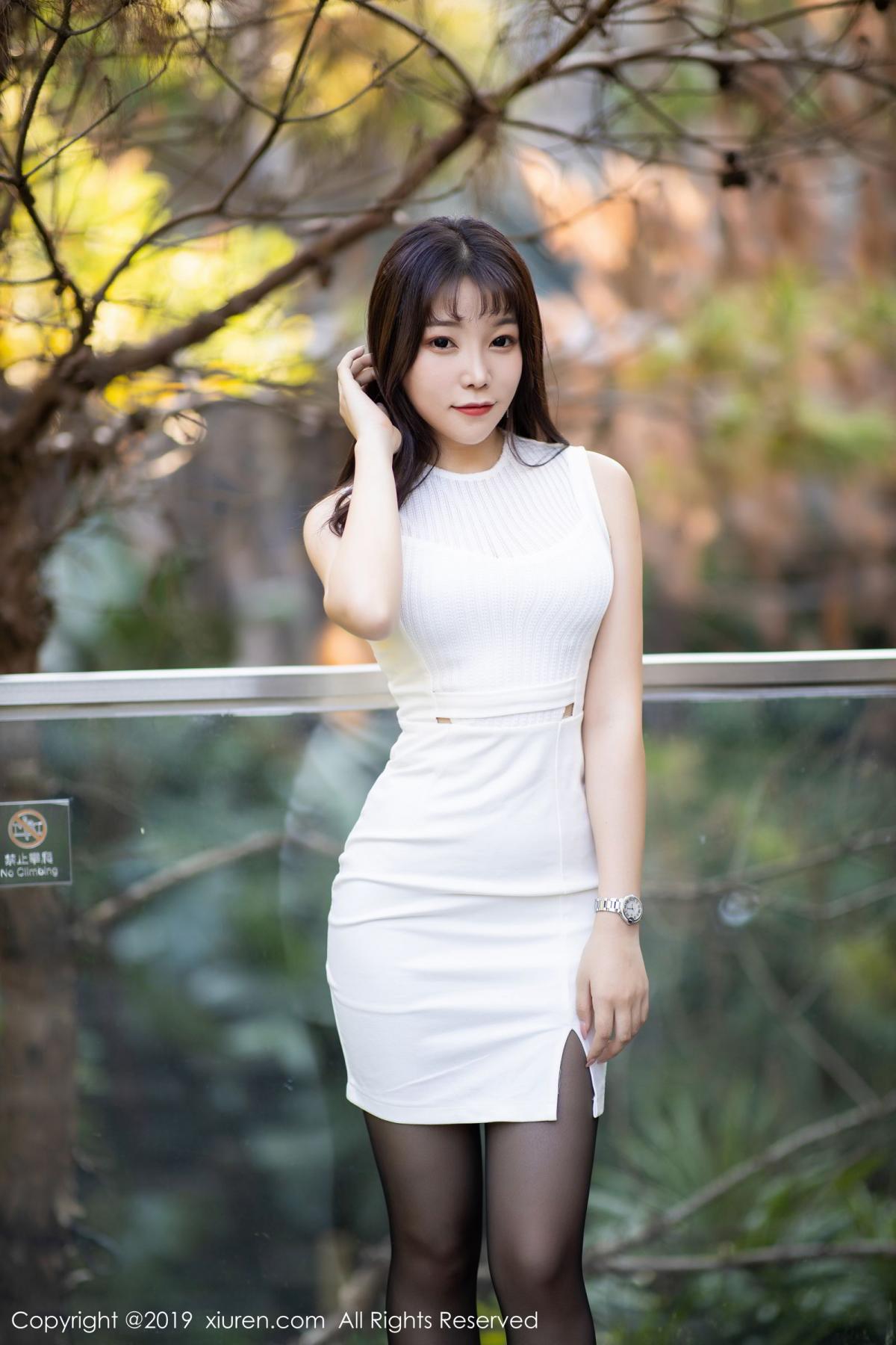[XiaoYu] Vol.1714 Chen Zhi 16P, Big Booty, Black Silk, Chen Zhi, Underwear, XiaoYu