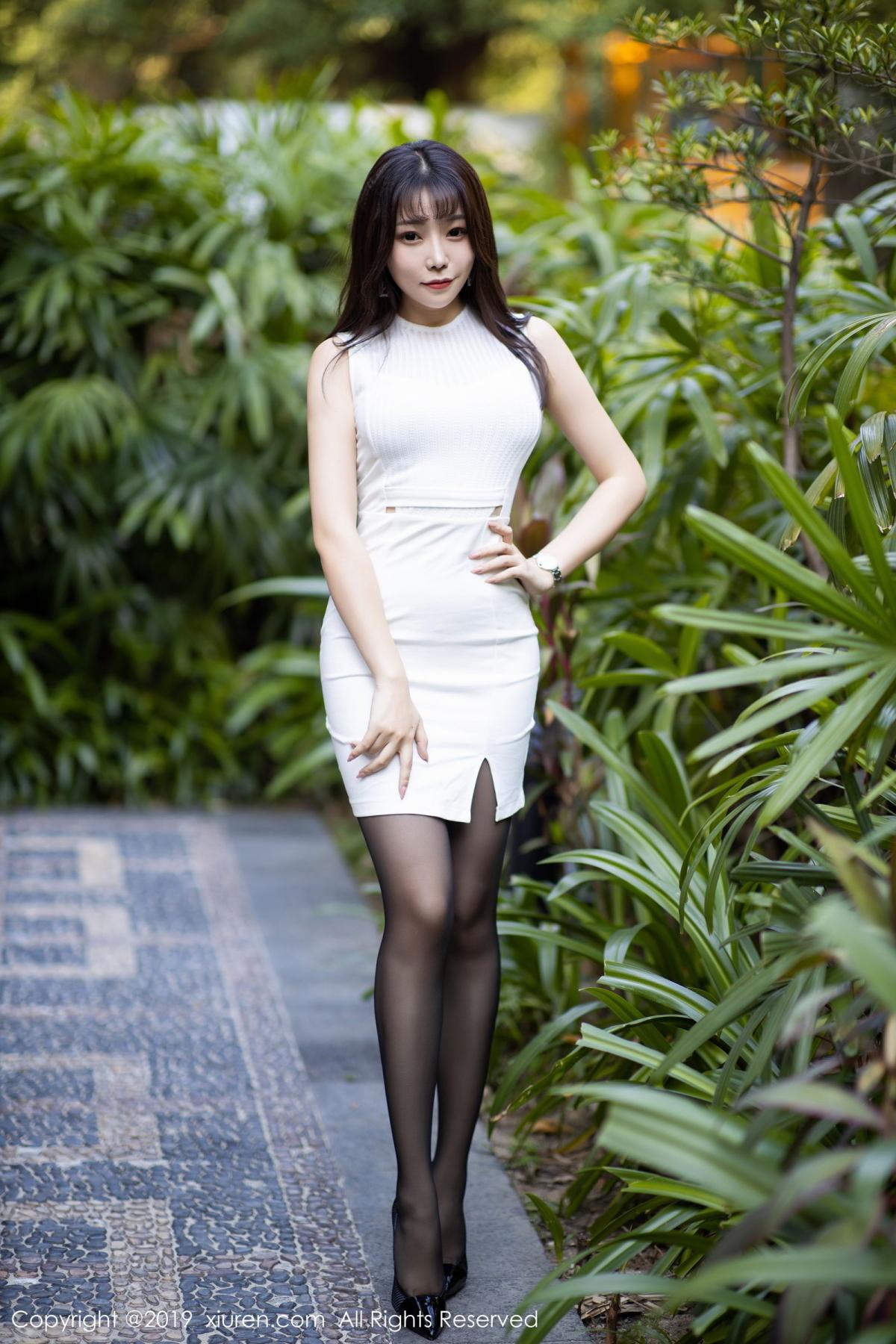 [XiaoYu] Vol.1714 Chen Zhi 1P, Big Booty, Black Silk, Chen Zhi, Underwear, XiaoYu