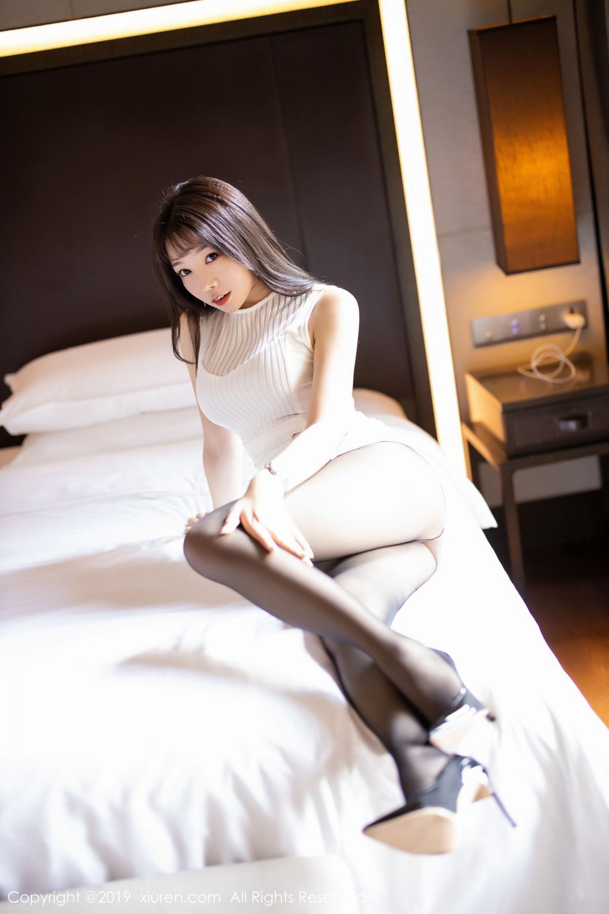 [XiaoYu] Vol.1714 Chen Zhi 24P, Big Booty, Black Silk, Chen Zhi, Underwear, XiaoYu