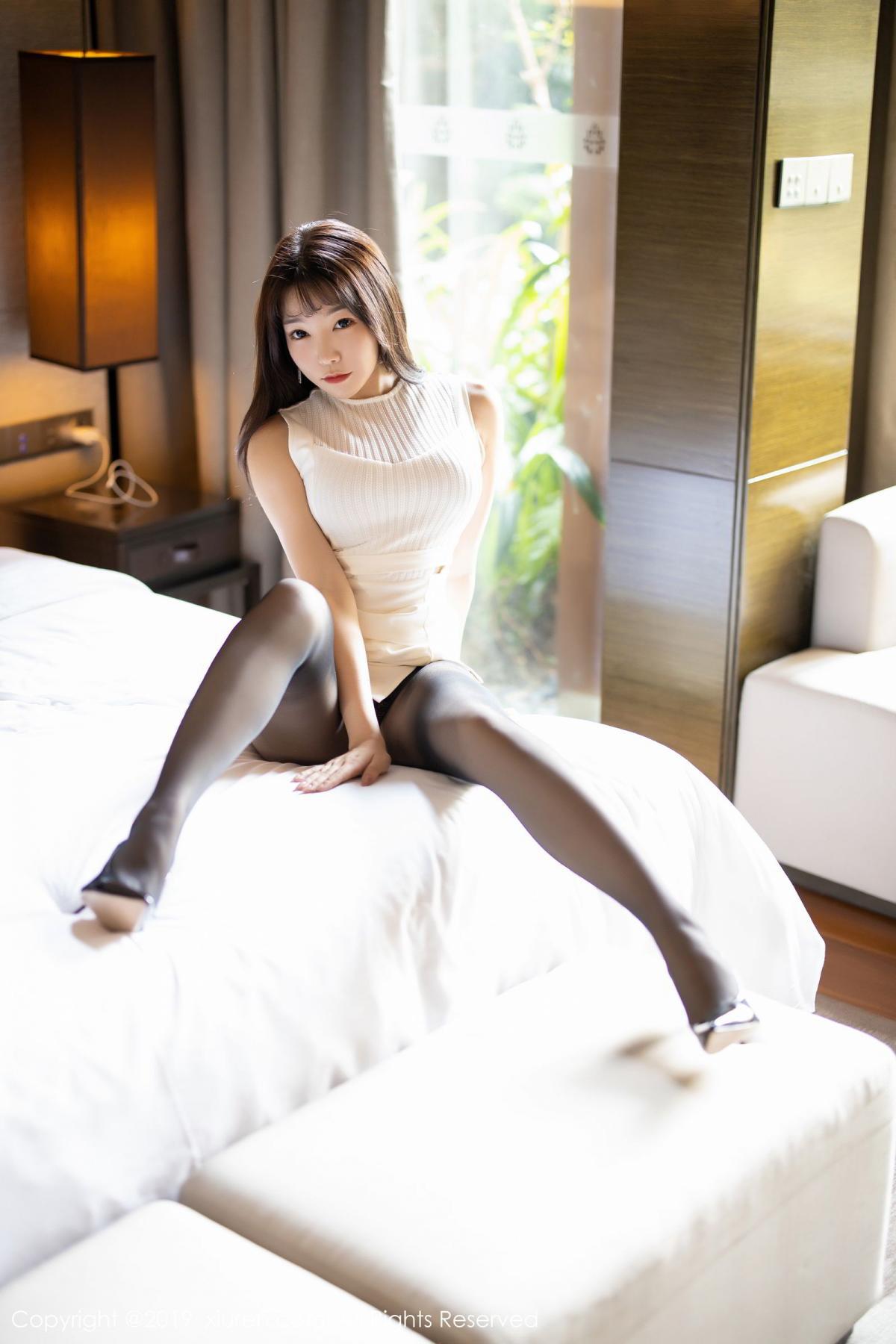 [XiaoYu] Vol.1714 Chen Zhi 27P, Big Booty, Black Silk, Chen Zhi, Underwear, XiaoYu