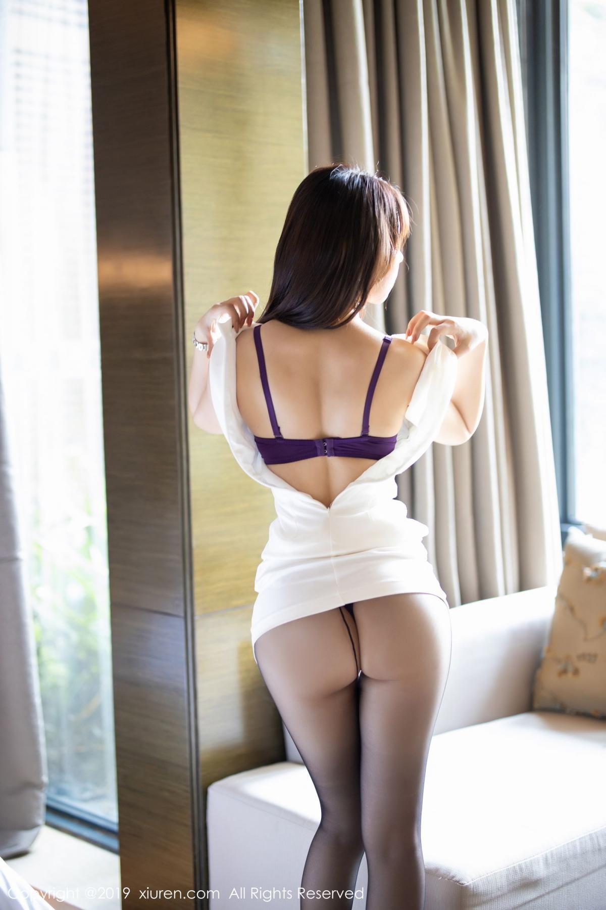[XiaoYu] Vol.1714 Chen Zhi 29P, Big Booty, Black Silk, Chen Zhi, Underwear, XiaoYu