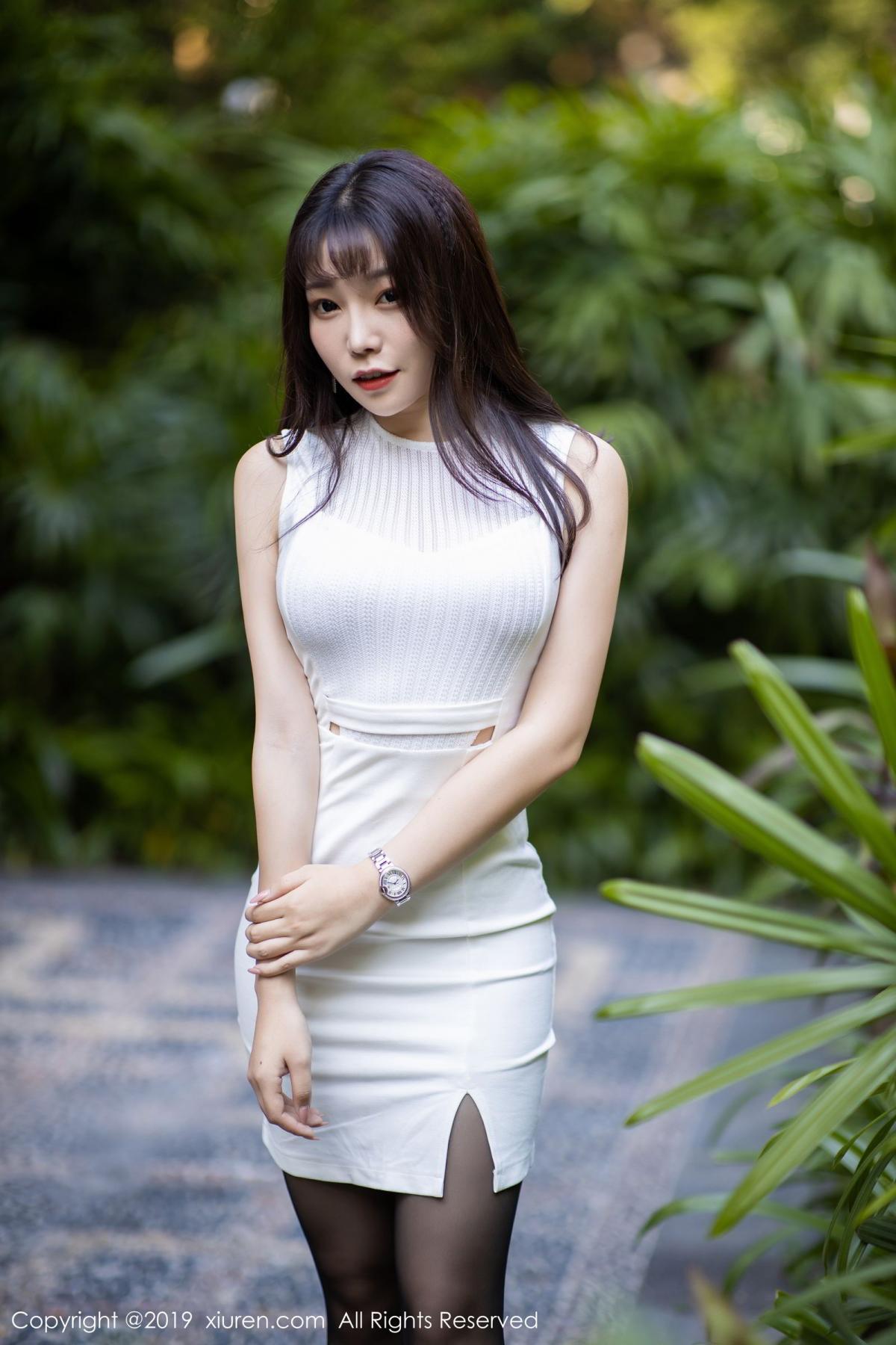 [XiaoYu] Vol.1714 Chen Zhi 2P, Big Booty, Black Silk, Chen Zhi, Underwear, XiaoYu