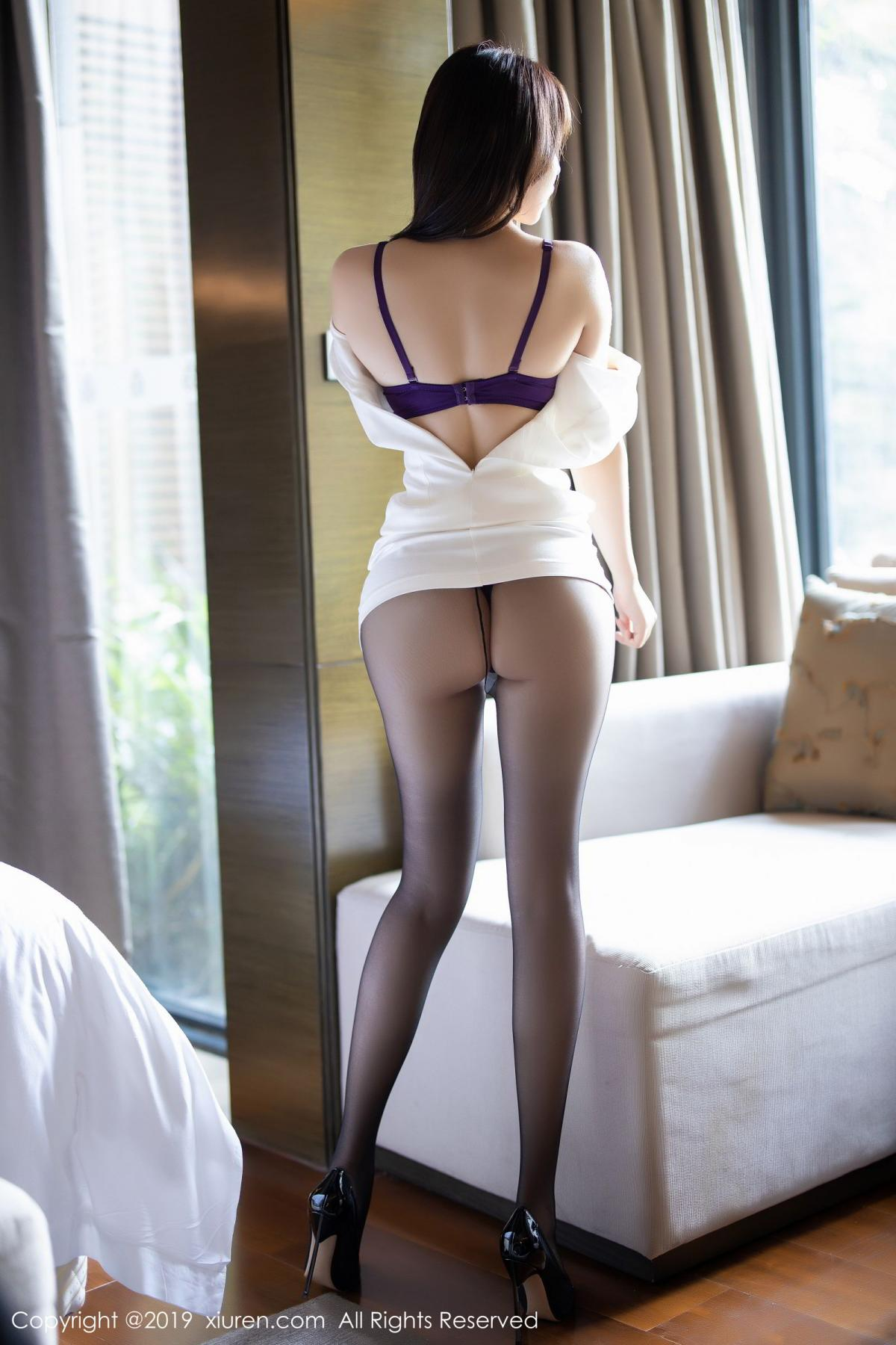 [XiaoYu] Vol.1714 Chen Zhi 30P, Big Booty, Black Silk, Chen Zhi, Underwear, XiaoYu