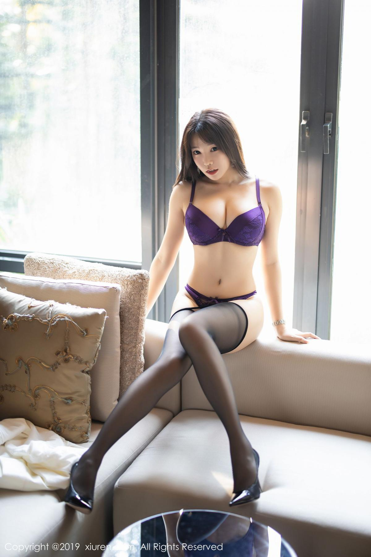 [XiaoYu] Vol.1714 Chen Zhi 39P, Big Booty, Black Silk, Chen Zhi, Underwear, XiaoYu