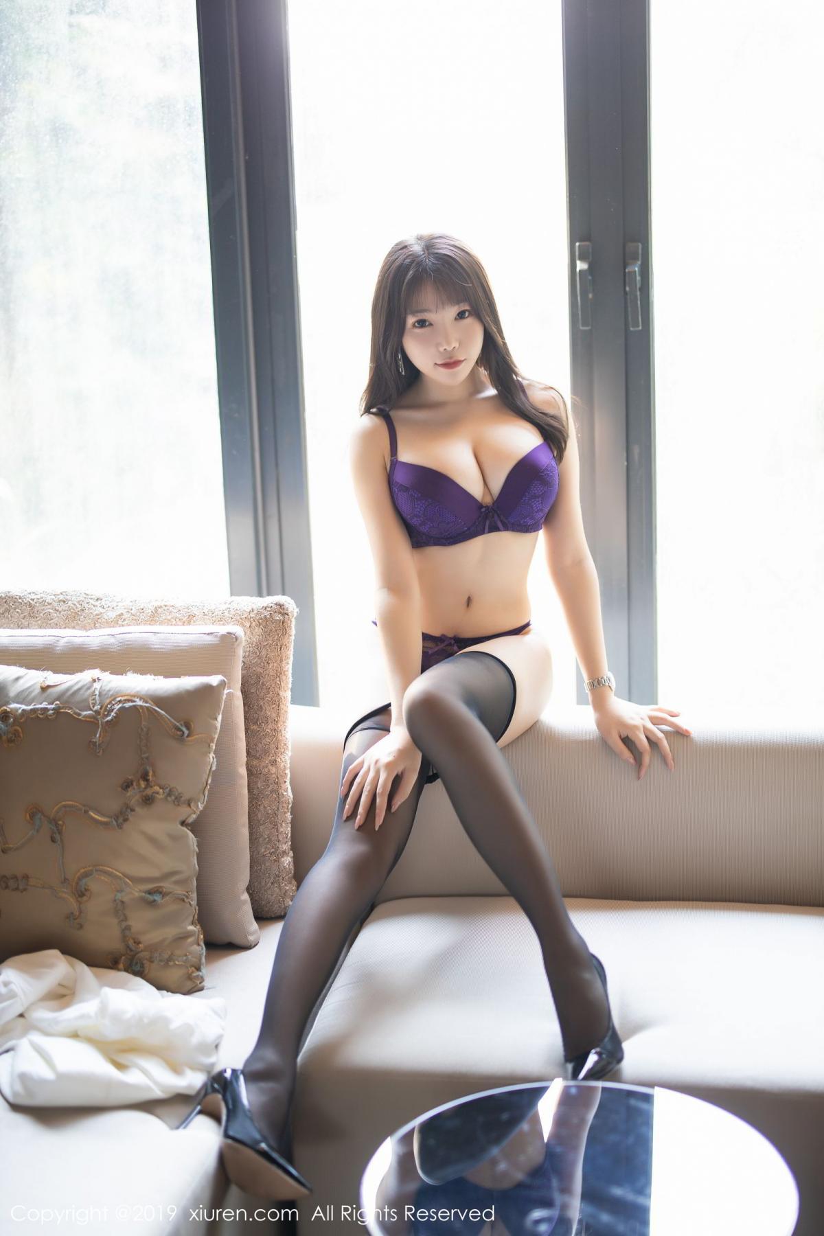 [XiaoYu] Vol.1714 Chen Zhi 41P, Big Booty, Black Silk, Chen Zhi, Underwear, XiaoYu