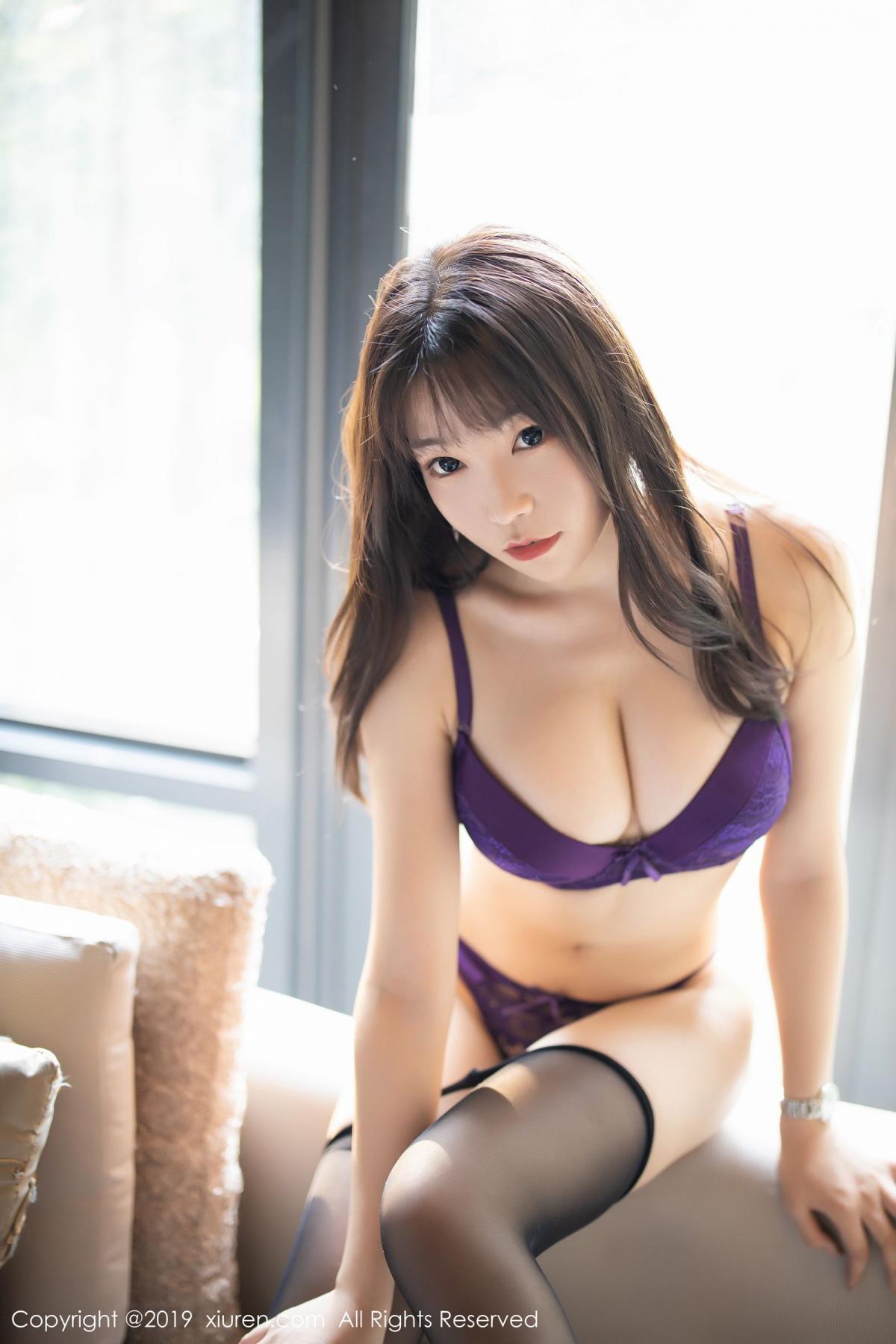 [XiaoYu] Vol.1714 Chen Zhi 42P, Big Booty, Black Silk, Chen Zhi, Underwear, XiaoYu
