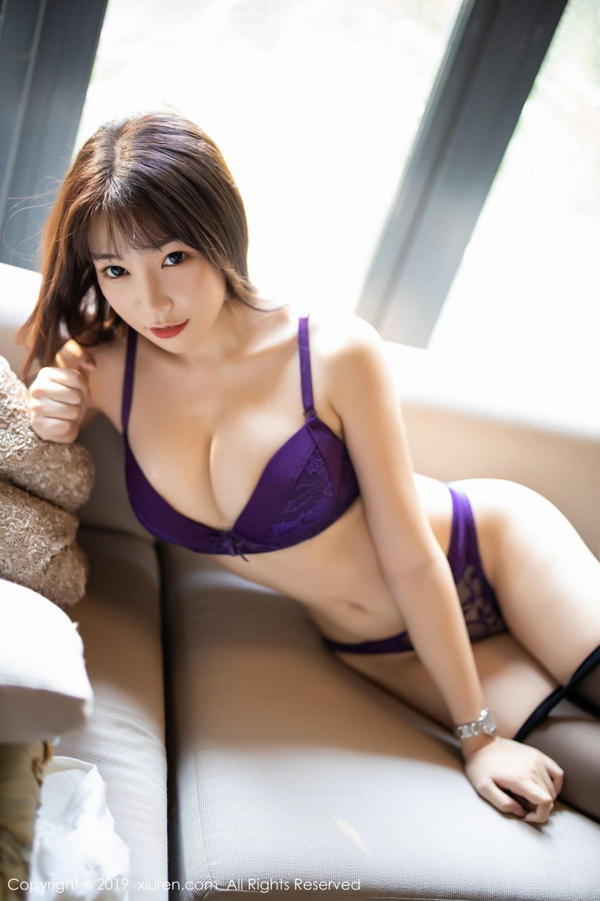 [XiaoYu] Vol.1714 Chen Zhi 45P, Big Booty, Black Silk, Chen Zhi, Underwear, XiaoYu
