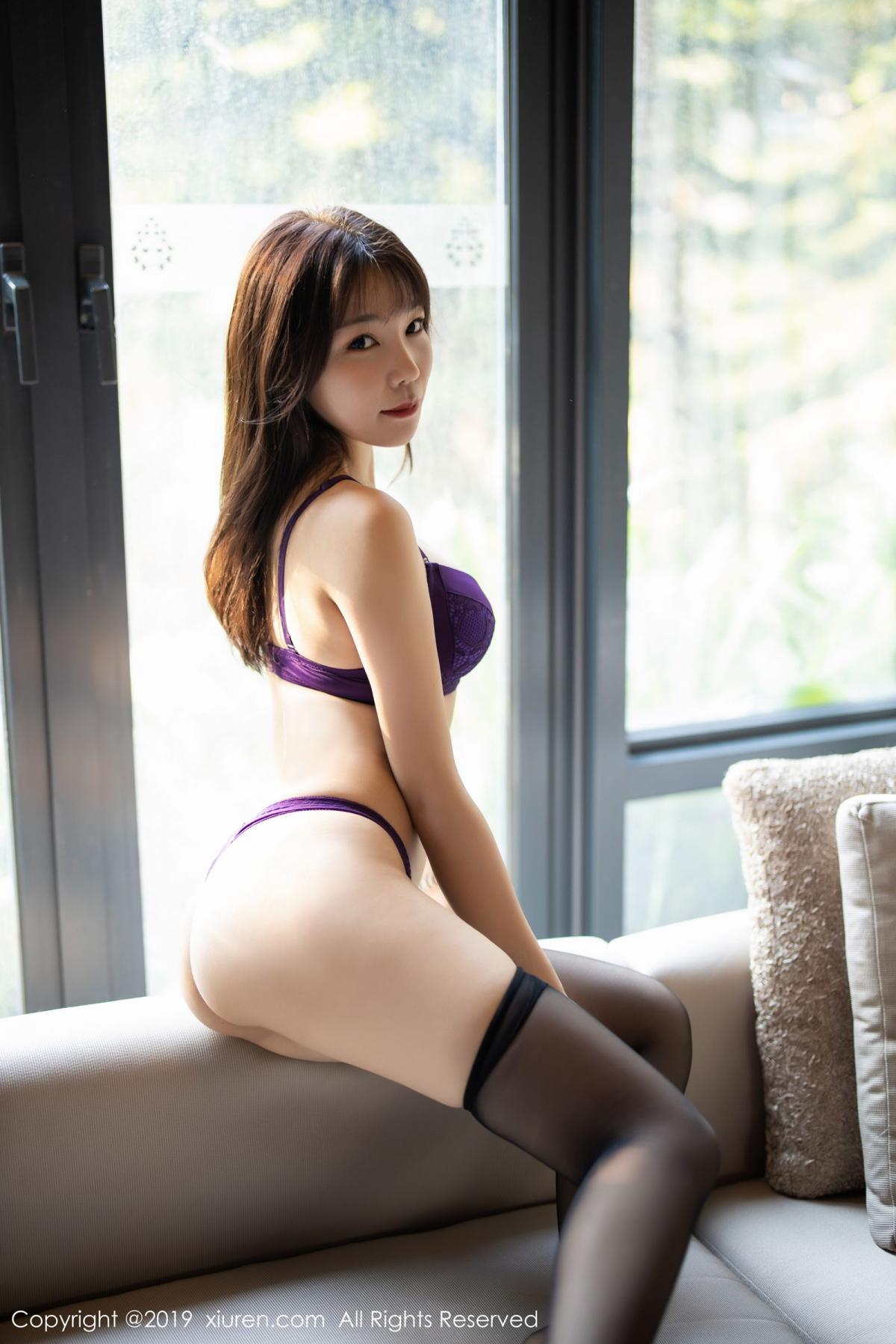 [XiaoYu] Vol.1714 Chen Zhi 51P, Big Booty, Black Silk, Chen Zhi, Underwear, XiaoYu
