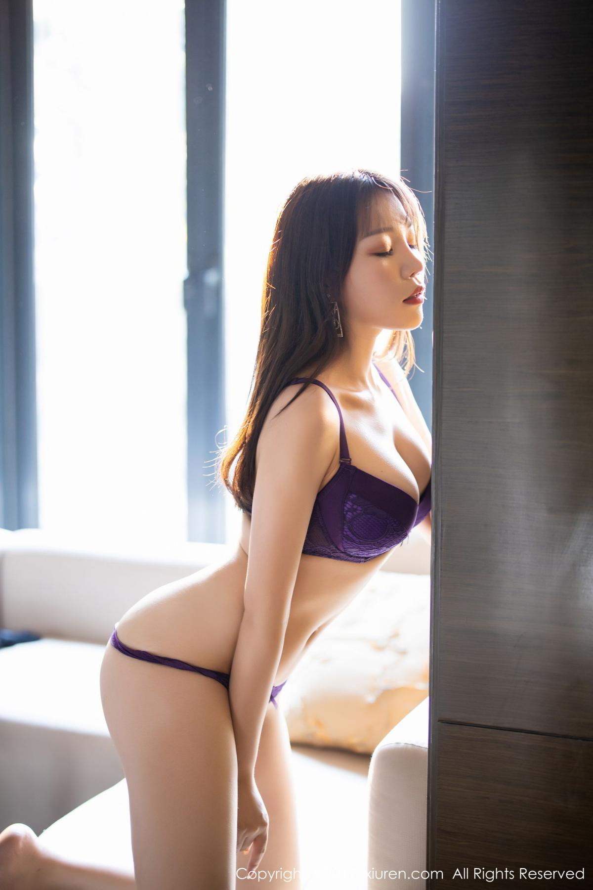 [XiaoYu] Vol.1714 Chen Zhi 59P, Big Booty, Black Silk, Chen Zhi, Underwear, XiaoYu