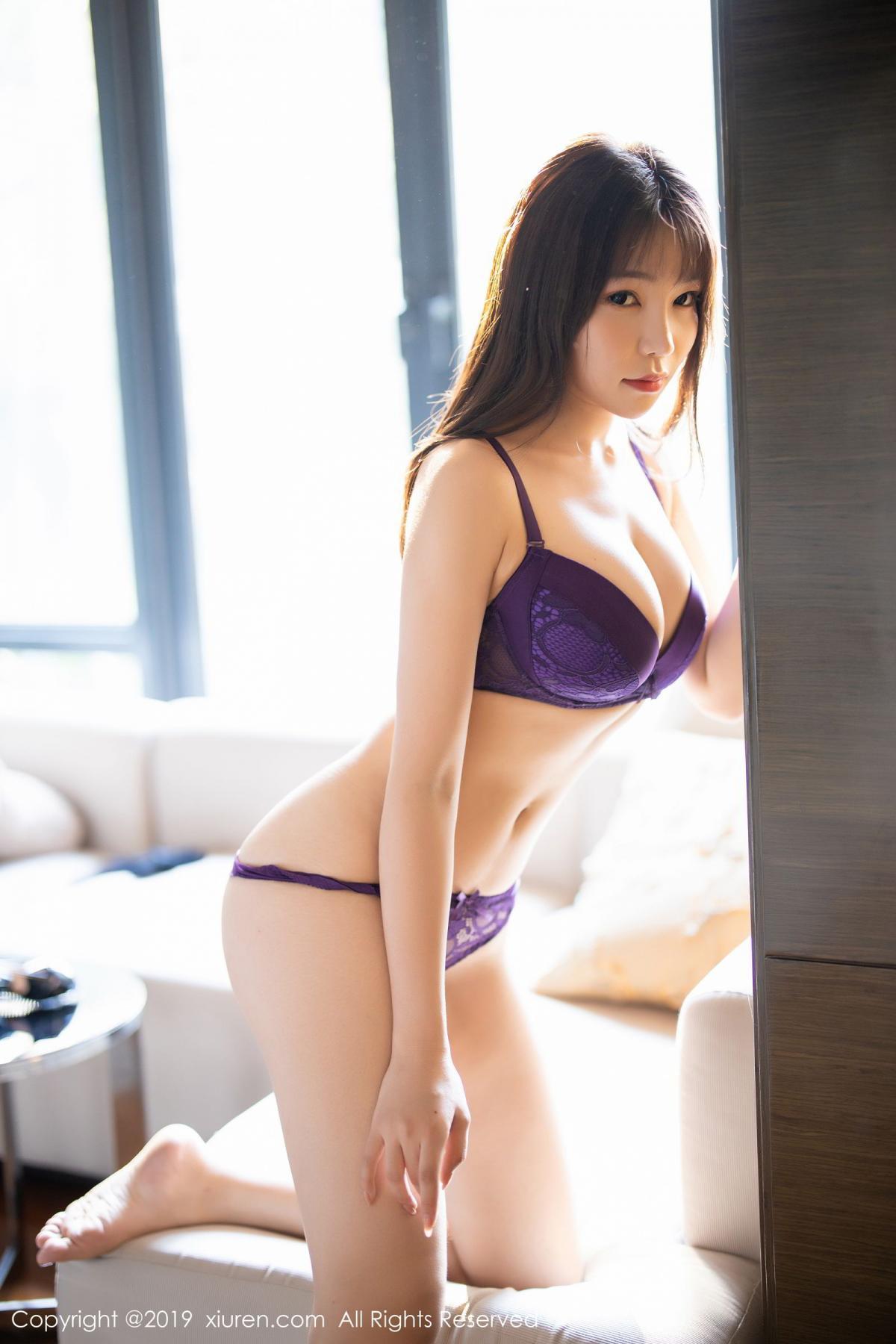[XiaoYu] Vol.1714 Chen Zhi 60P, Big Booty, Black Silk, Chen Zhi, Underwear, XiaoYu