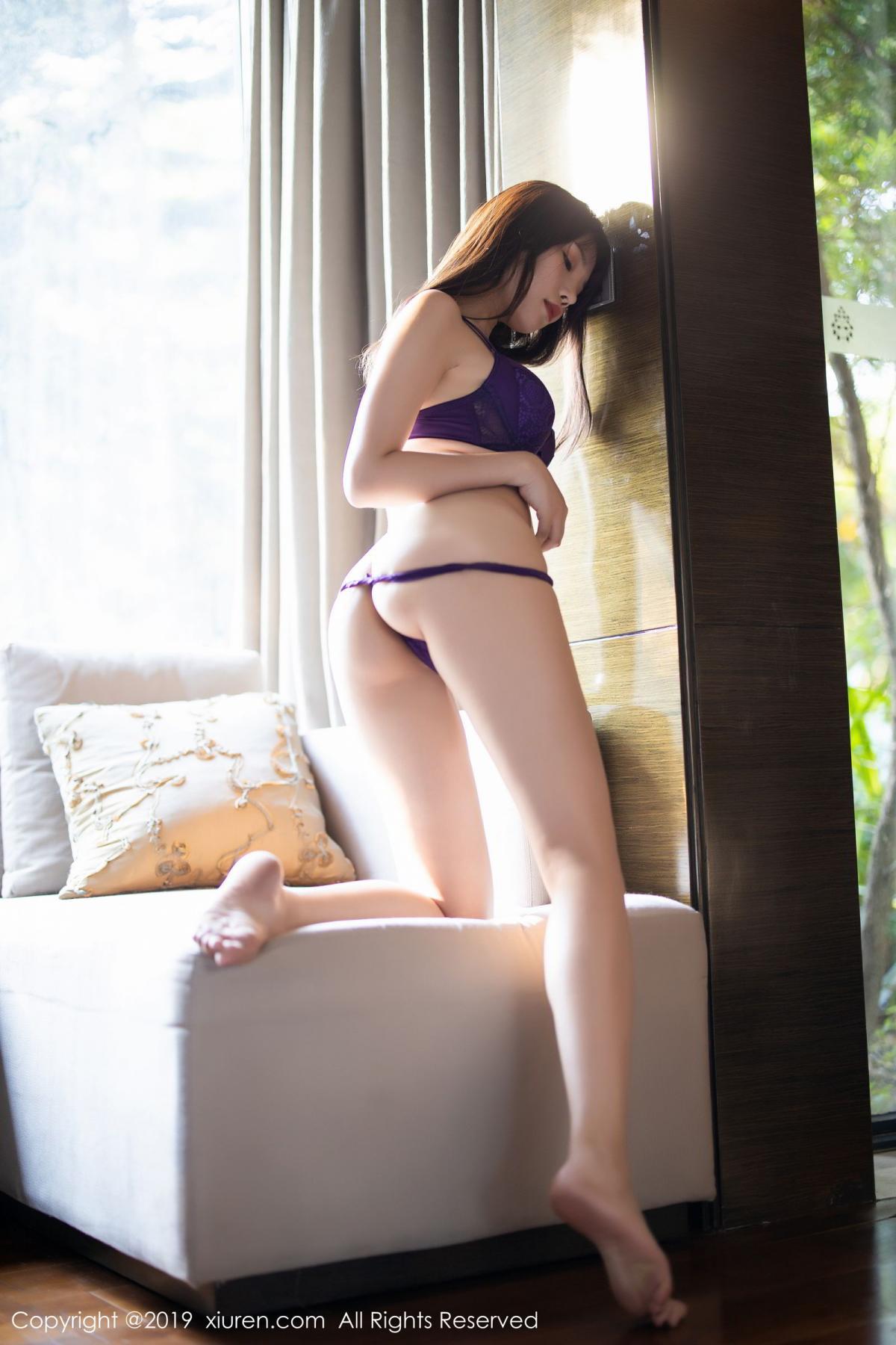[XiaoYu] Vol.1714 Chen Zhi 61P, Big Booty, Black Silk, Chen Zhi, Underwear, XiaoYu