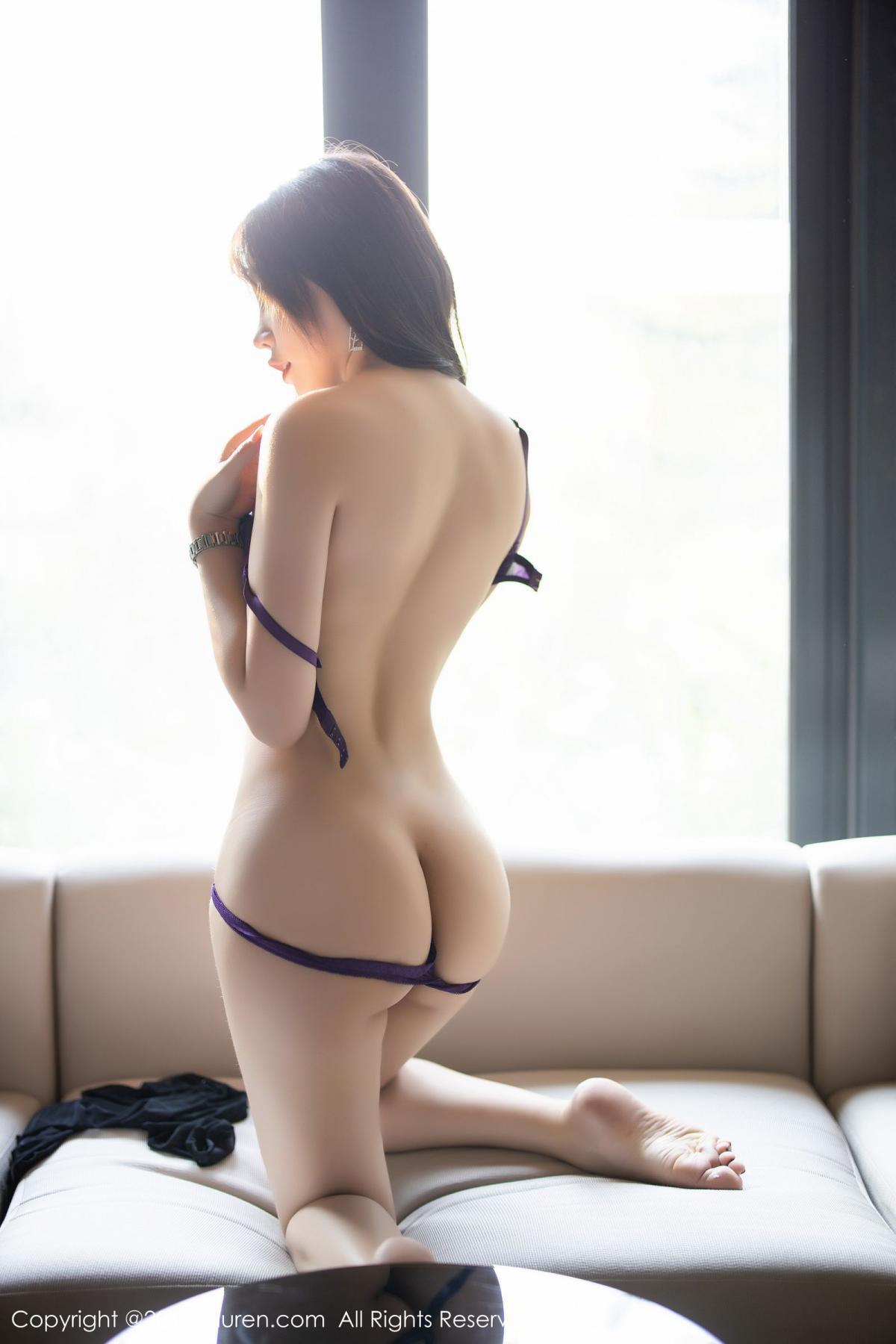 [XiaoYu] Vol.1714 Chen Zhi 65P, Big Booty, Black Silk, Chen Zhi, Underwear, XiaoYu