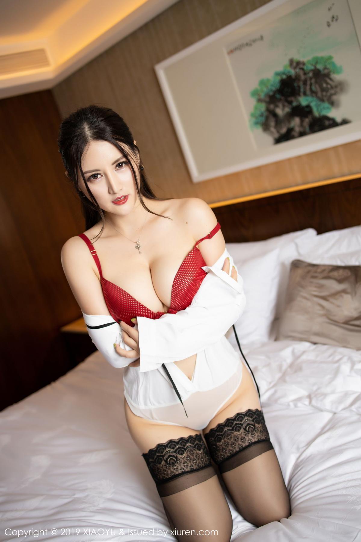 [XiaoYu] Vol.173 Chen Shi Shi 57P, Black Silk, Chen Shi Shi, Underwear, XiaoYu