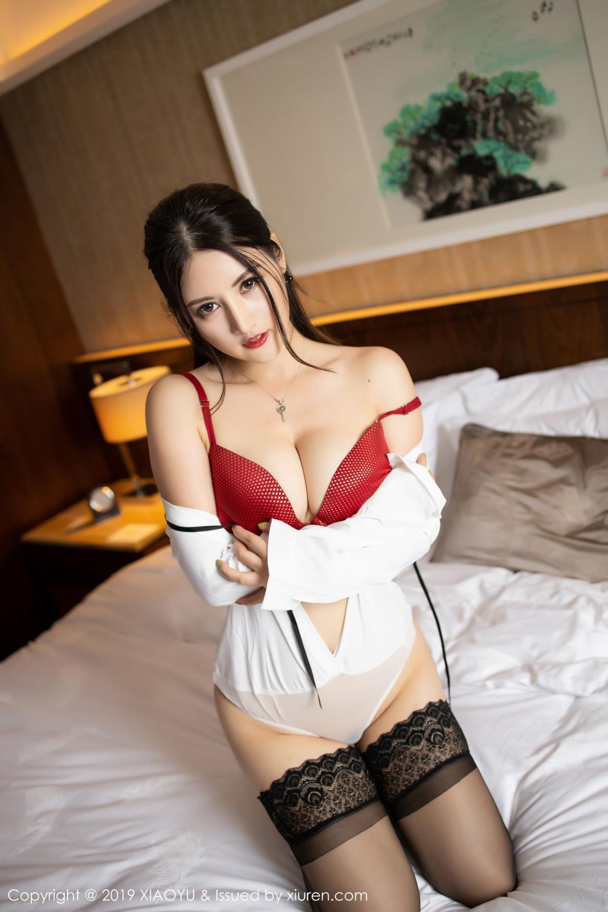 [XiaoYu] Vol.173 Chen Shi Shi 58P, Black Silk, Chen Shi Shi, Underwear, XiaoYu