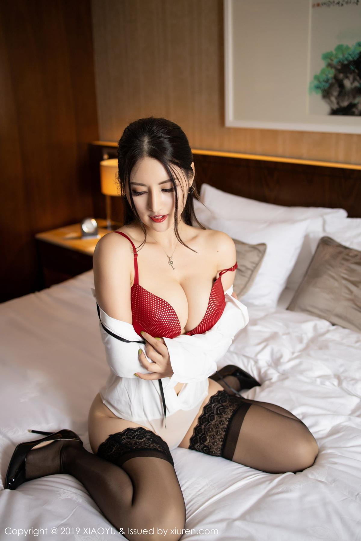 [XiaoYu] Vol.173 Chen Shi Shi 59P, Black Silk, Chen Shi Shi, Underwear, XiaoYu