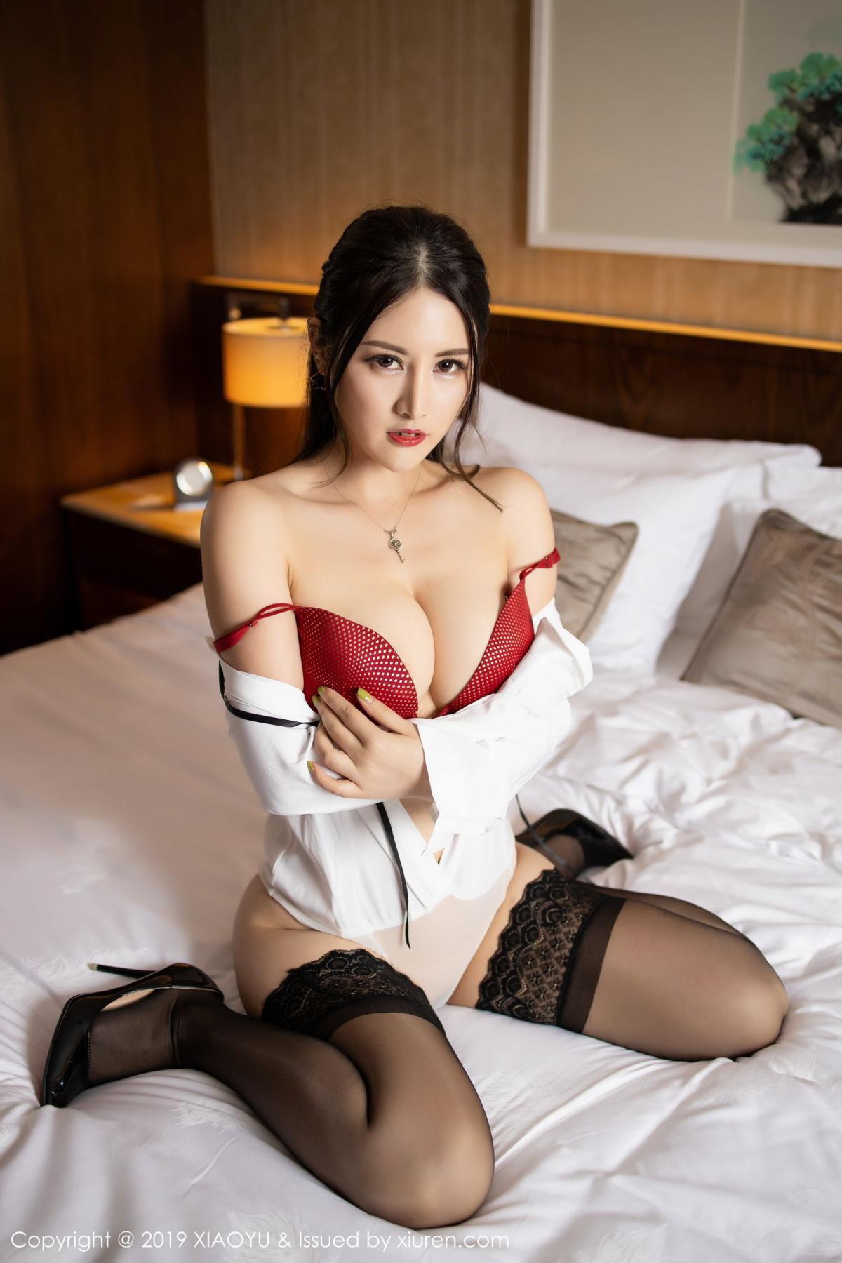 [XiaoYu] Vol.173 Chen Shi Shi 60P, Black Silk, Chen Shi Shi, Underwear, XiaoYu