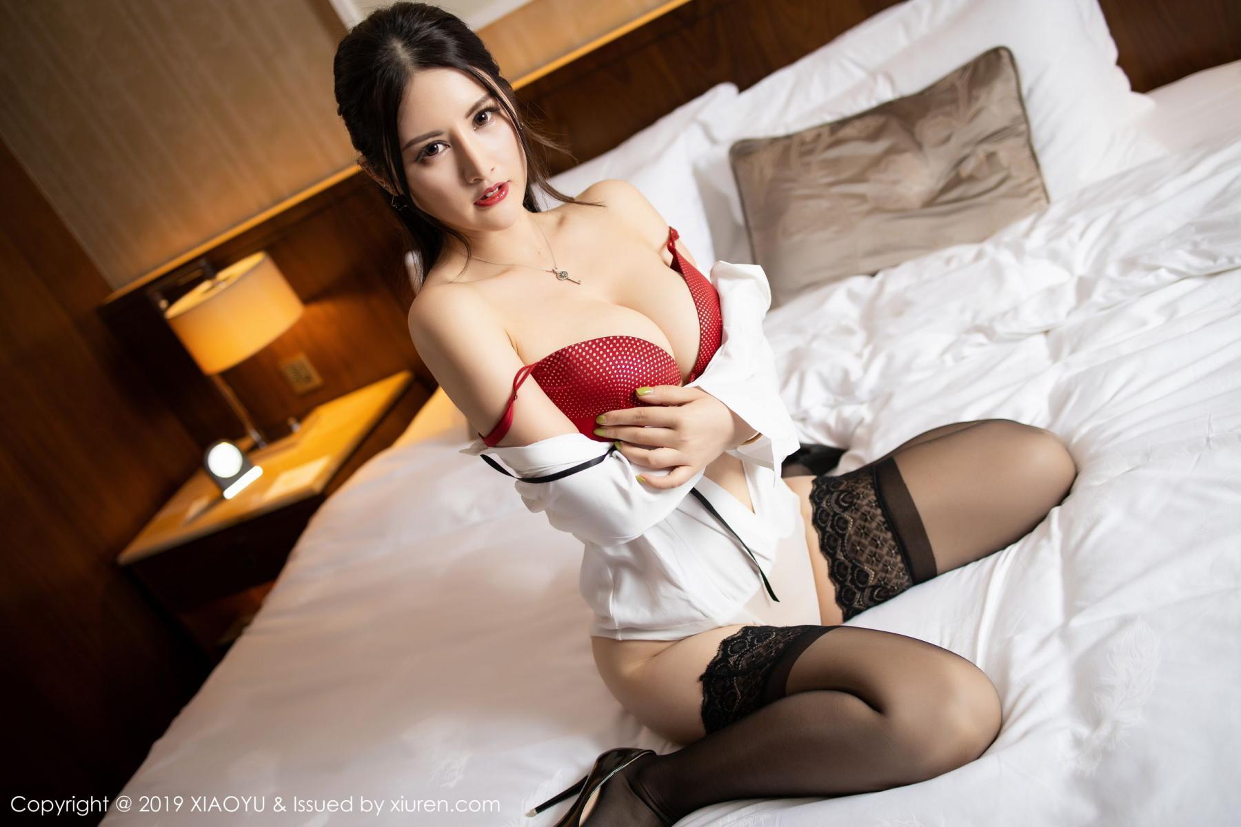 [XiaoYu] Vol.173 Chen Shi Shi 62P, Black Silk, Chen Shi Shi, Underwear, XiaoYu