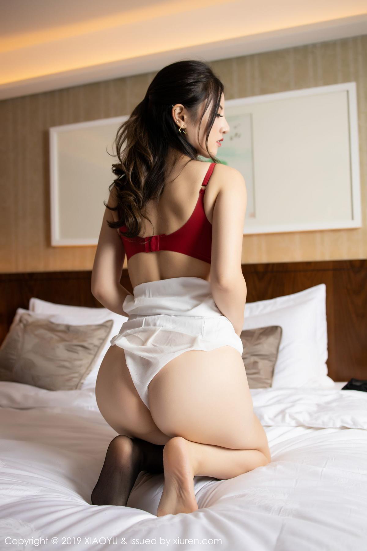 [XiaoYu] Vol.173 Chen Shi Shi 73P, Black Silk, Chen Shi Shi, Underwear, XiaoYu