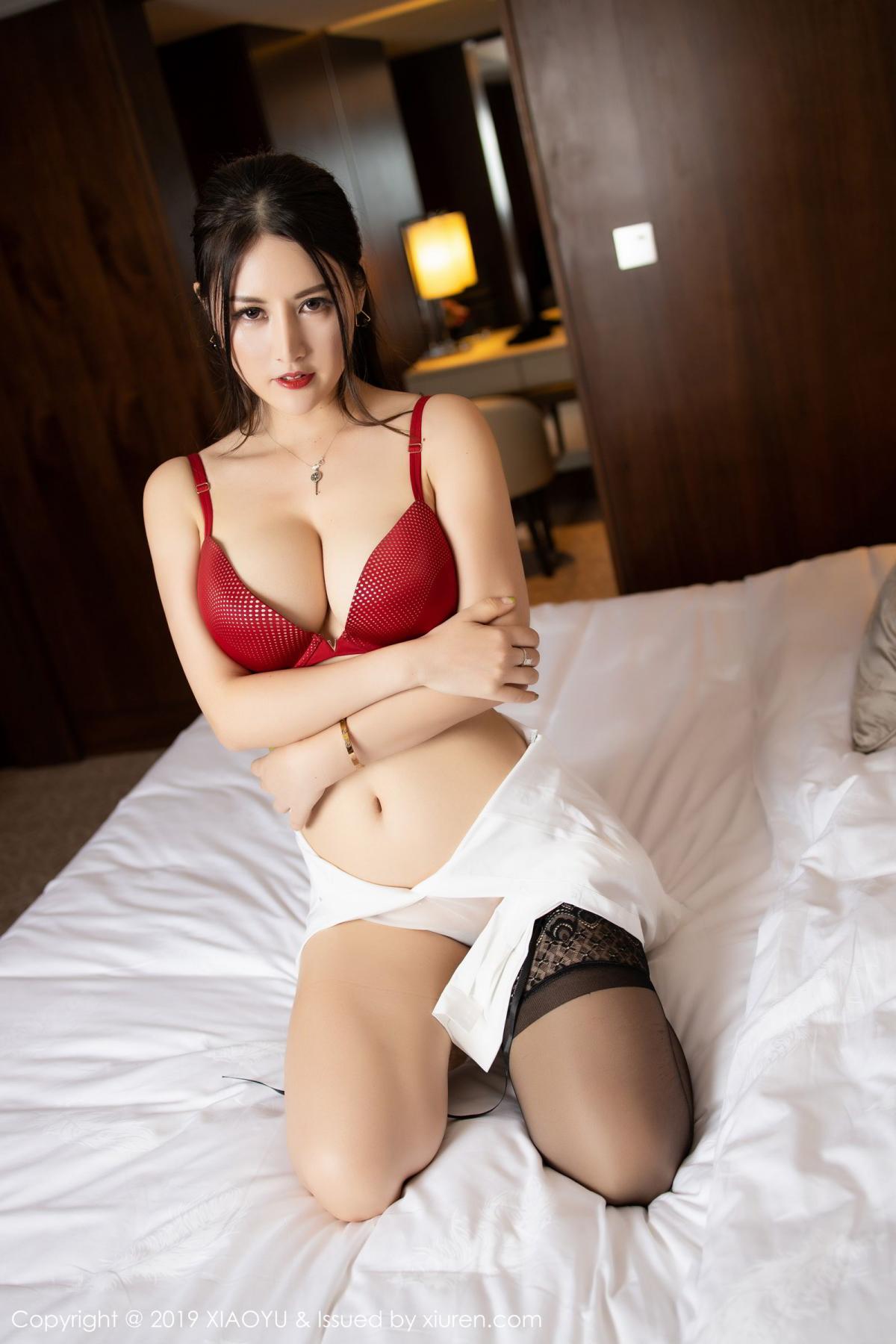 [XiaoYu] Vol.173 Chen Shi Shi 74P, Black Silk, Chen Shi Shi, Underwear, XiaoYu