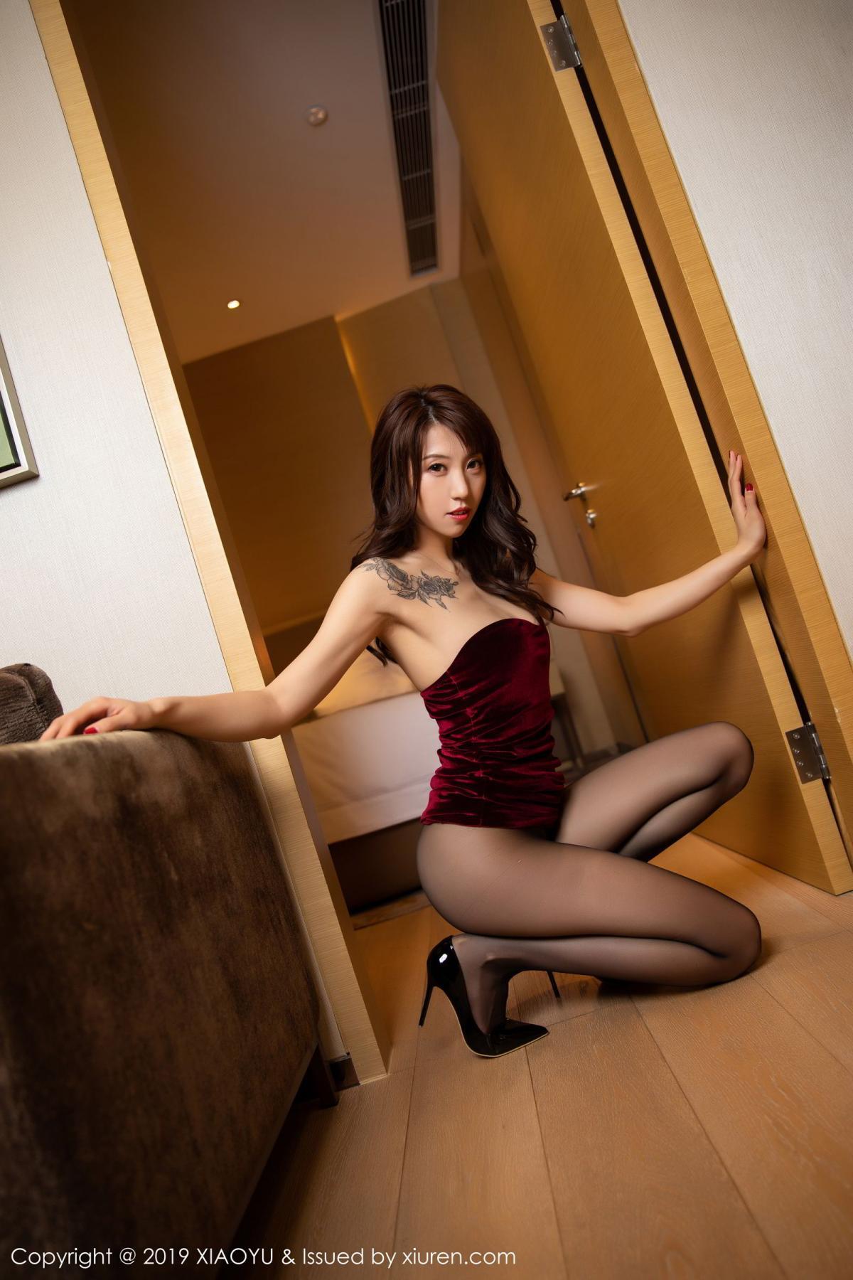 [XiaoYu] Vol.175 Da Xi 12P, Black Silk, Da Xi, Mature, Tall, XiaoYu