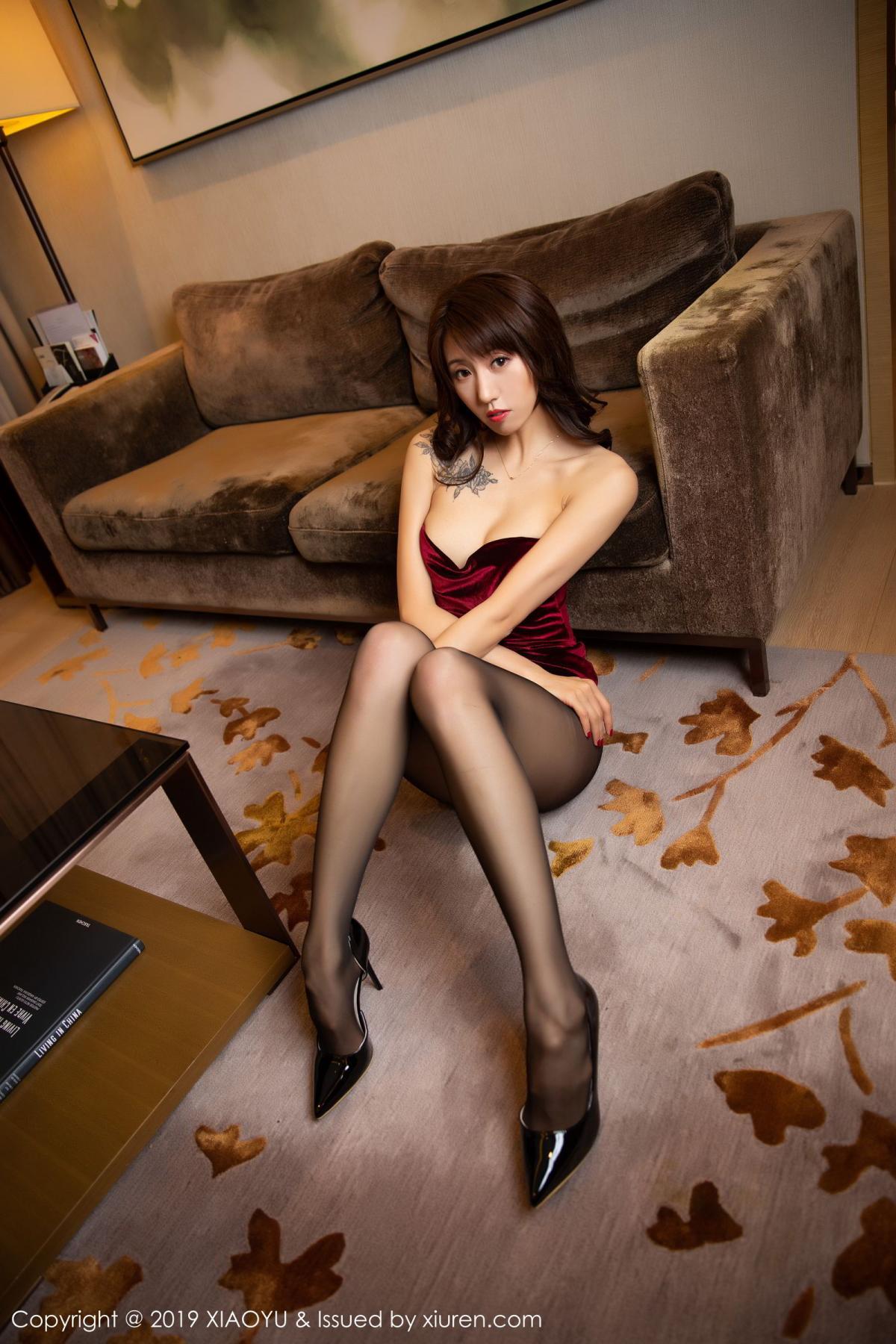 [XiaoYu] Vol.175 Da Xi 31P, Black Silk, Da Xi, Mature, Tall, XiaoYu