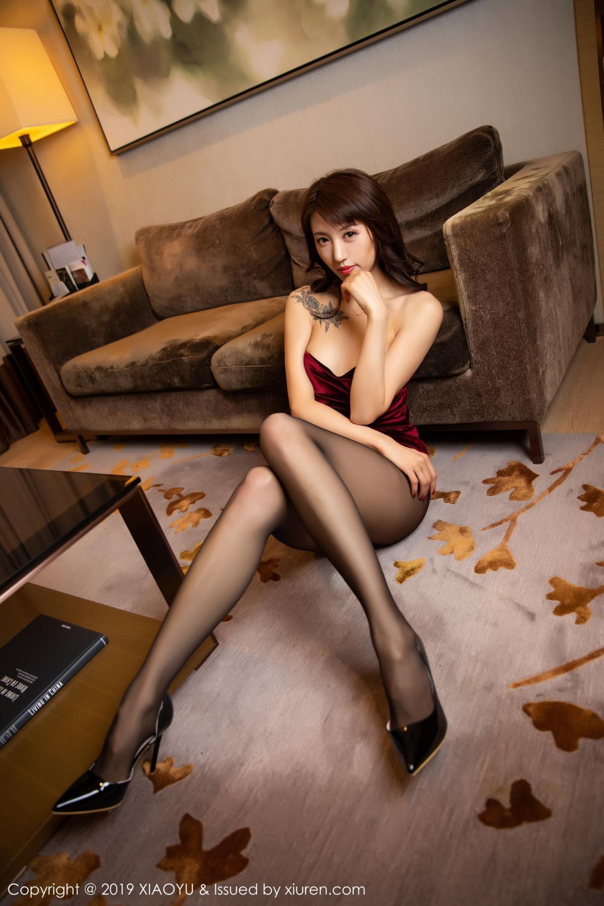 [XiaoYu] Vol.175 Da Xi 32P, Black Silk, Da Xi, Mature, Tall, XiaoYu