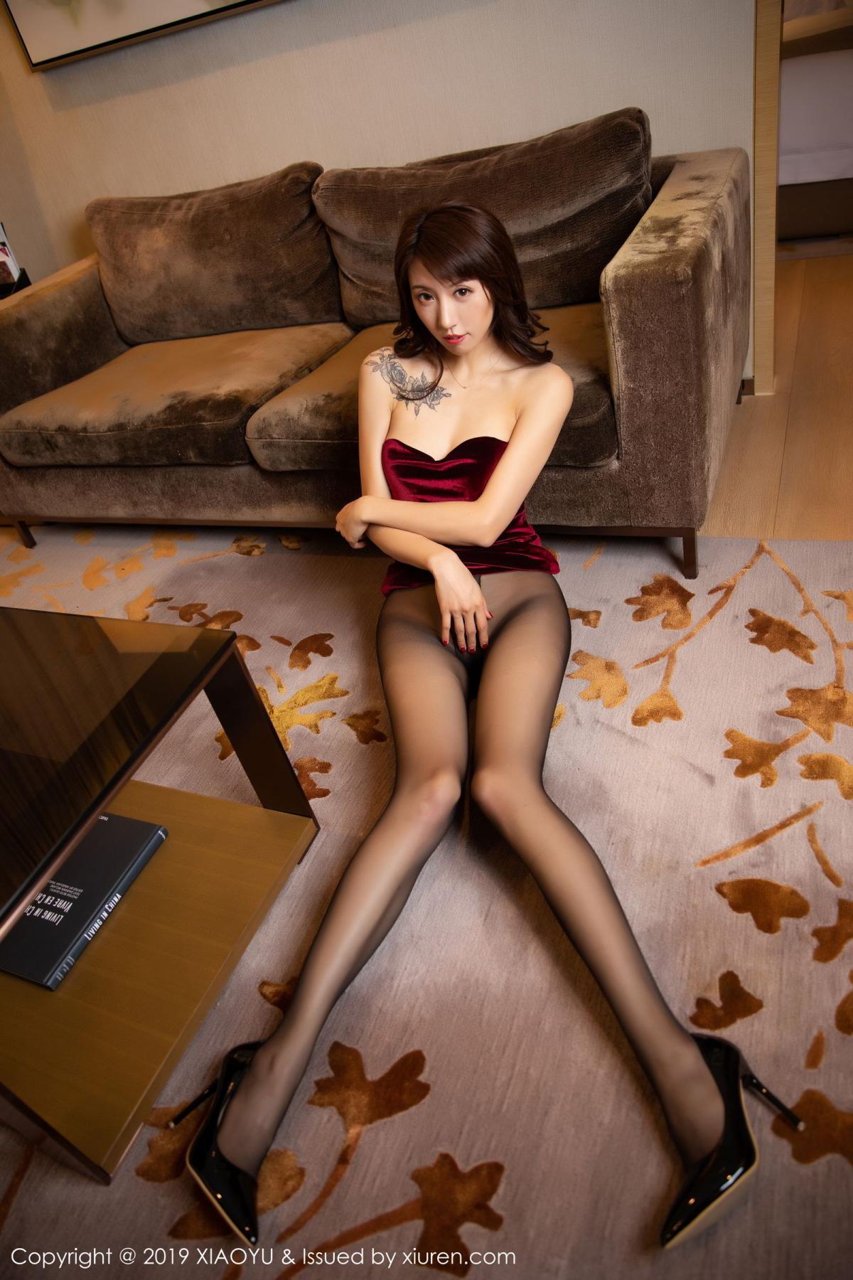 [XiaoYu] Vol.175 Da Xi 34P, Black Silk, Da Xi, Mature, Tall, XiaoYu