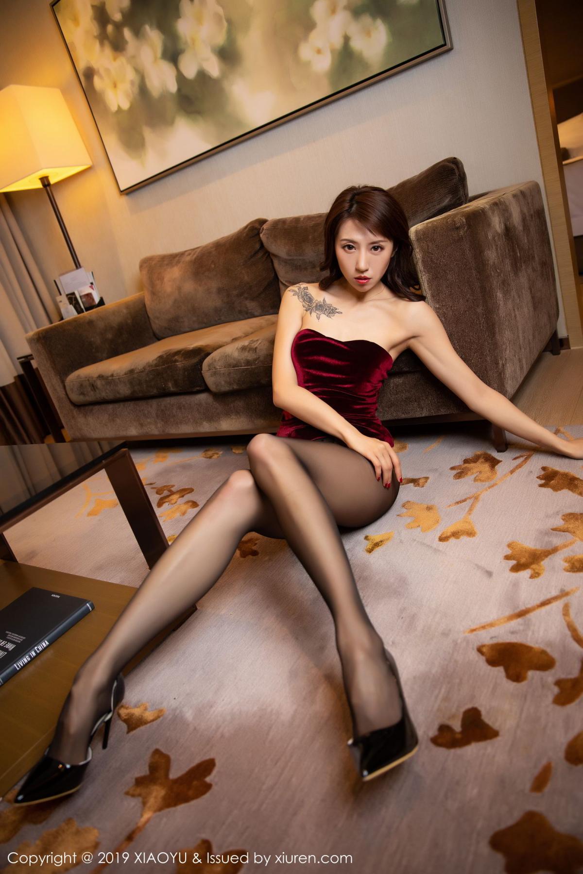 [XiaoYu] Vol.175 Da Xi 35P, Black Silk, Da Xi, Mature, Tall, XiaoYu
