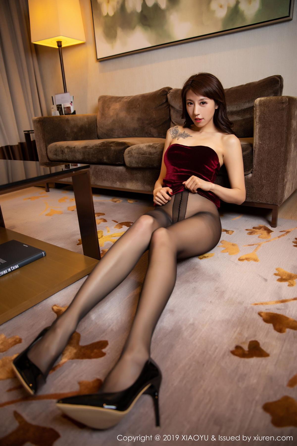 [XiaoYu] Vol.175 Da Xi 36P, Black Silk, Da Xi, Mature, Tall, XiaoYu