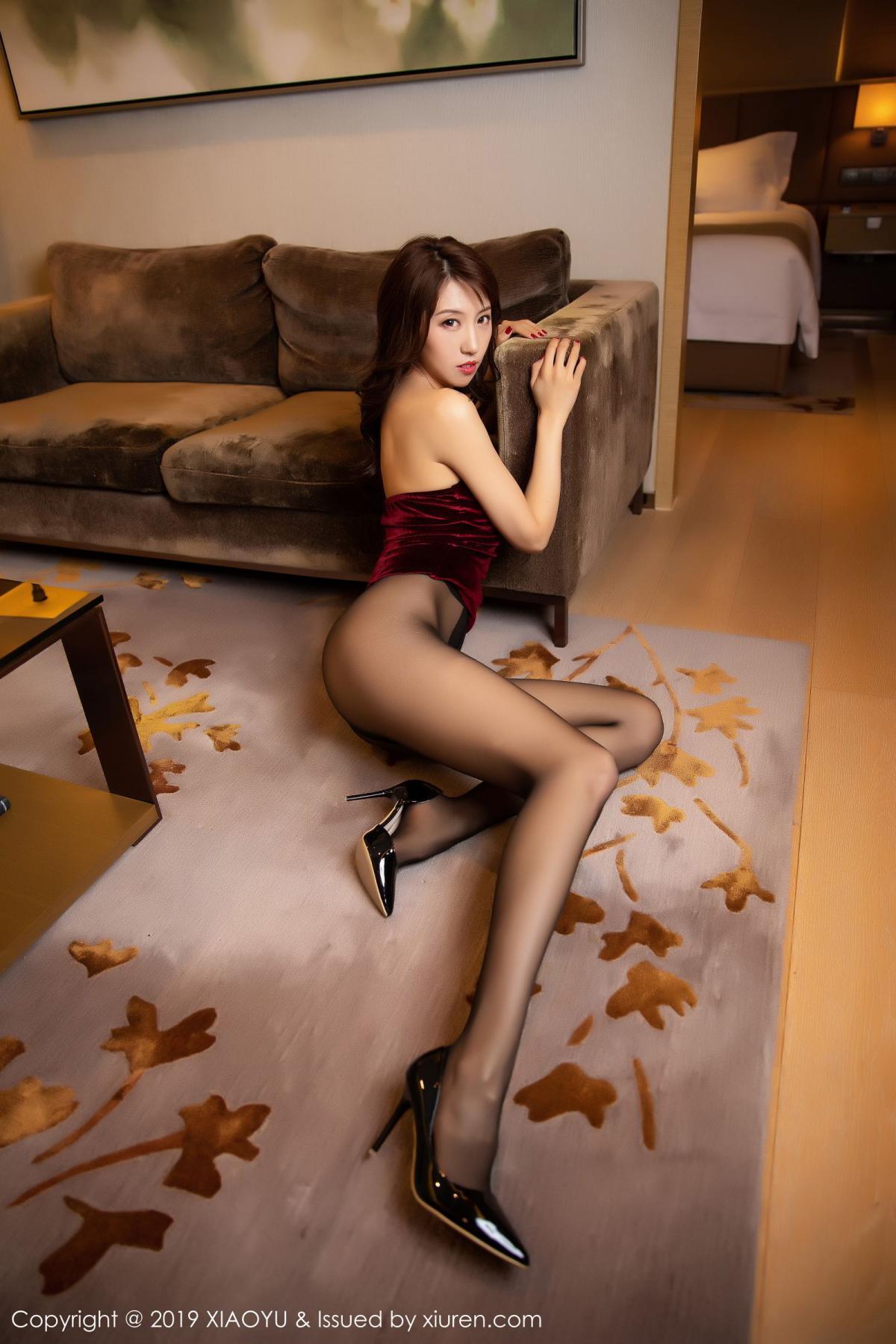 [XiaoYu] Vol.175 Da Xi 44P, Black Silk, Da Xi, Mature, Tall, XiaoYu
