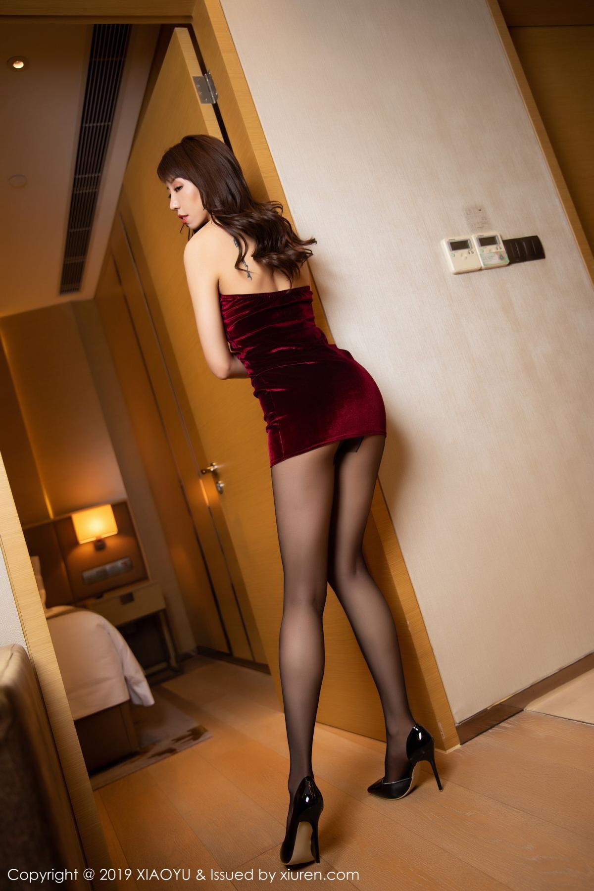 [XiaoYu] Vol.175 Da Xi 4P, Black Silk, Da Xi, Mature, Tall, XiaoYu