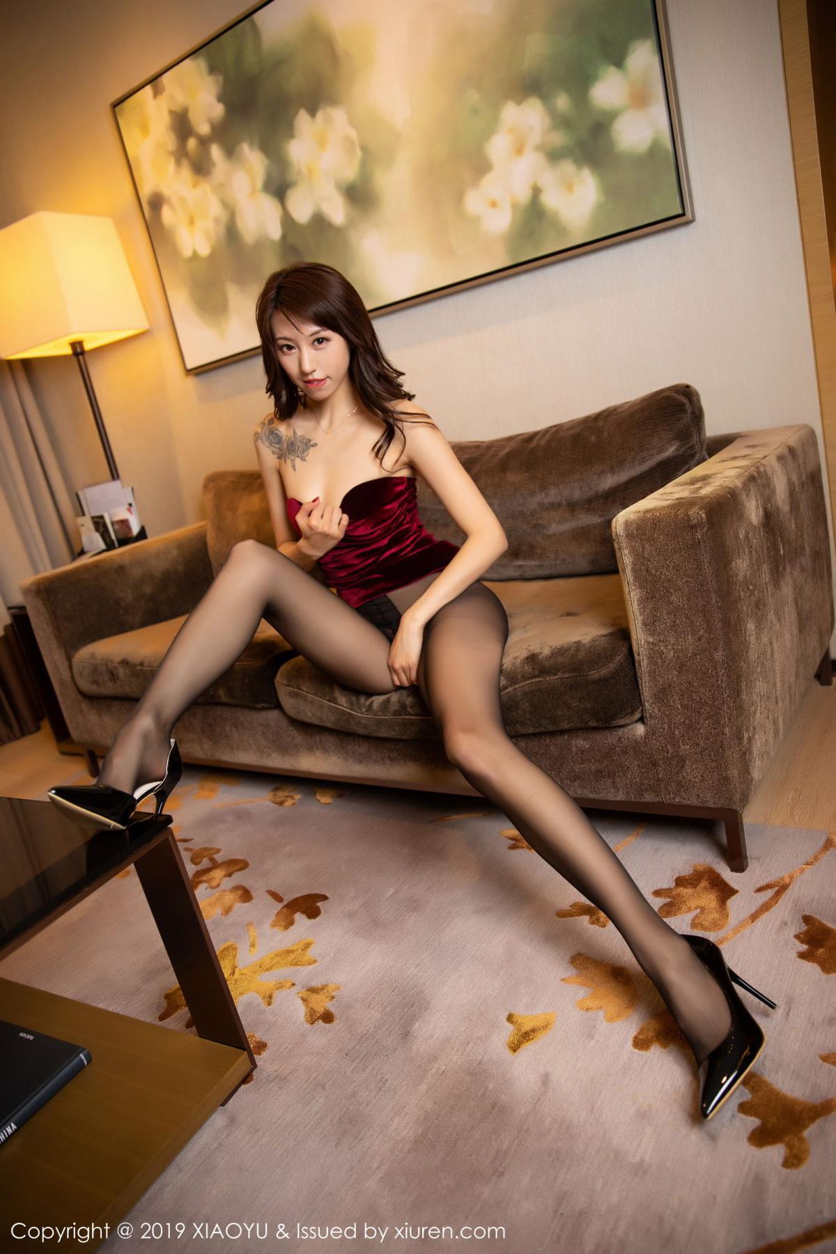 [XiaoYu] Vol.175 Da Xi 56P, Black Silk, Da Xi, Mature, Tall, XiaoYu