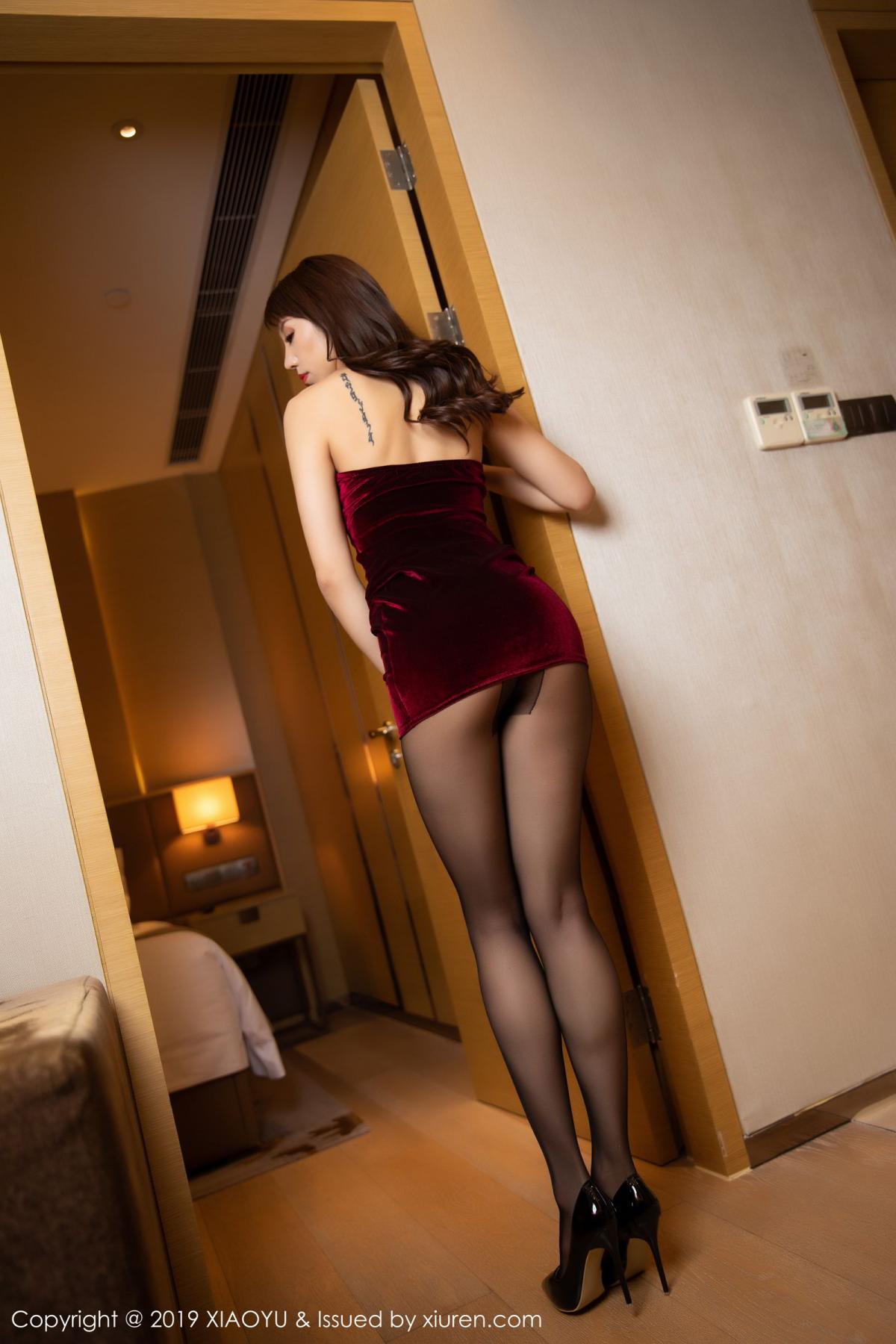 [XiaoYu] Vol.175 Da Xi 5P, Black Silk, Da Xi, Mature, Tall, XiaoYu
